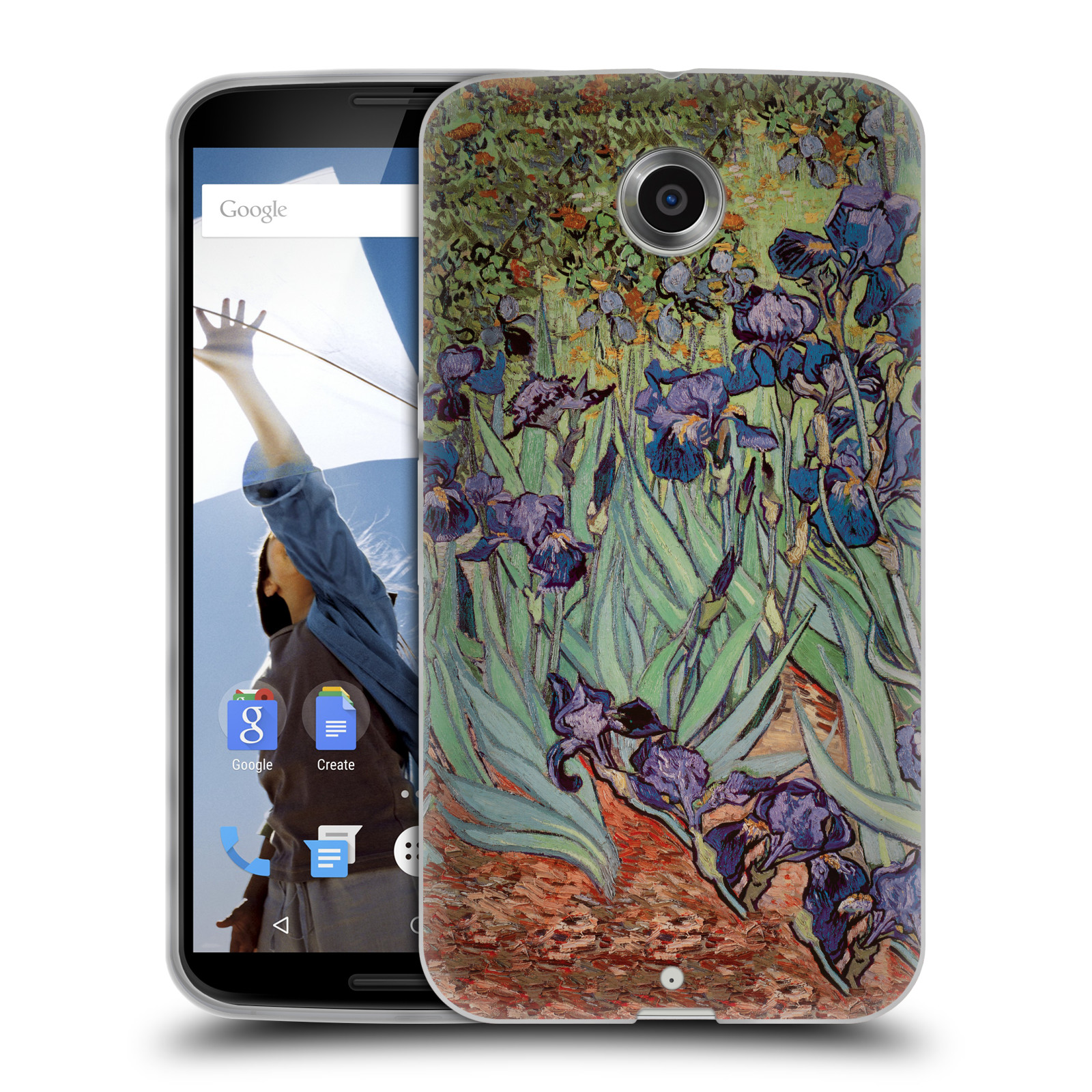 OFFICIAL MASTERS COLLECTION PAINTINGS 2 SOFT GEL CASE FOR ...