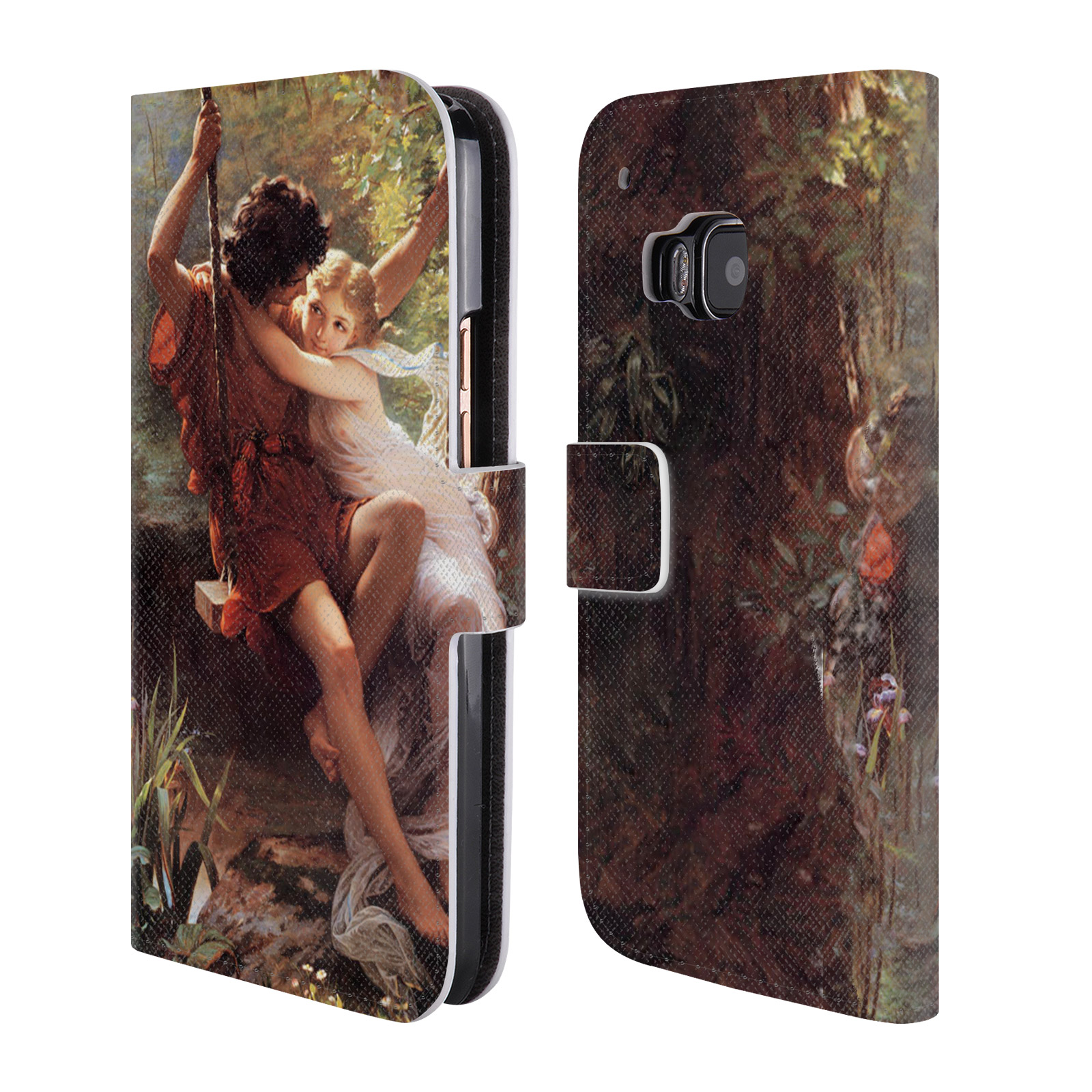 OFFICIAL-MASTERS-COLLECTION-PAINTINGS-2-LEATHER-BOOK-CASE-FOR-HTC-PHONES-1