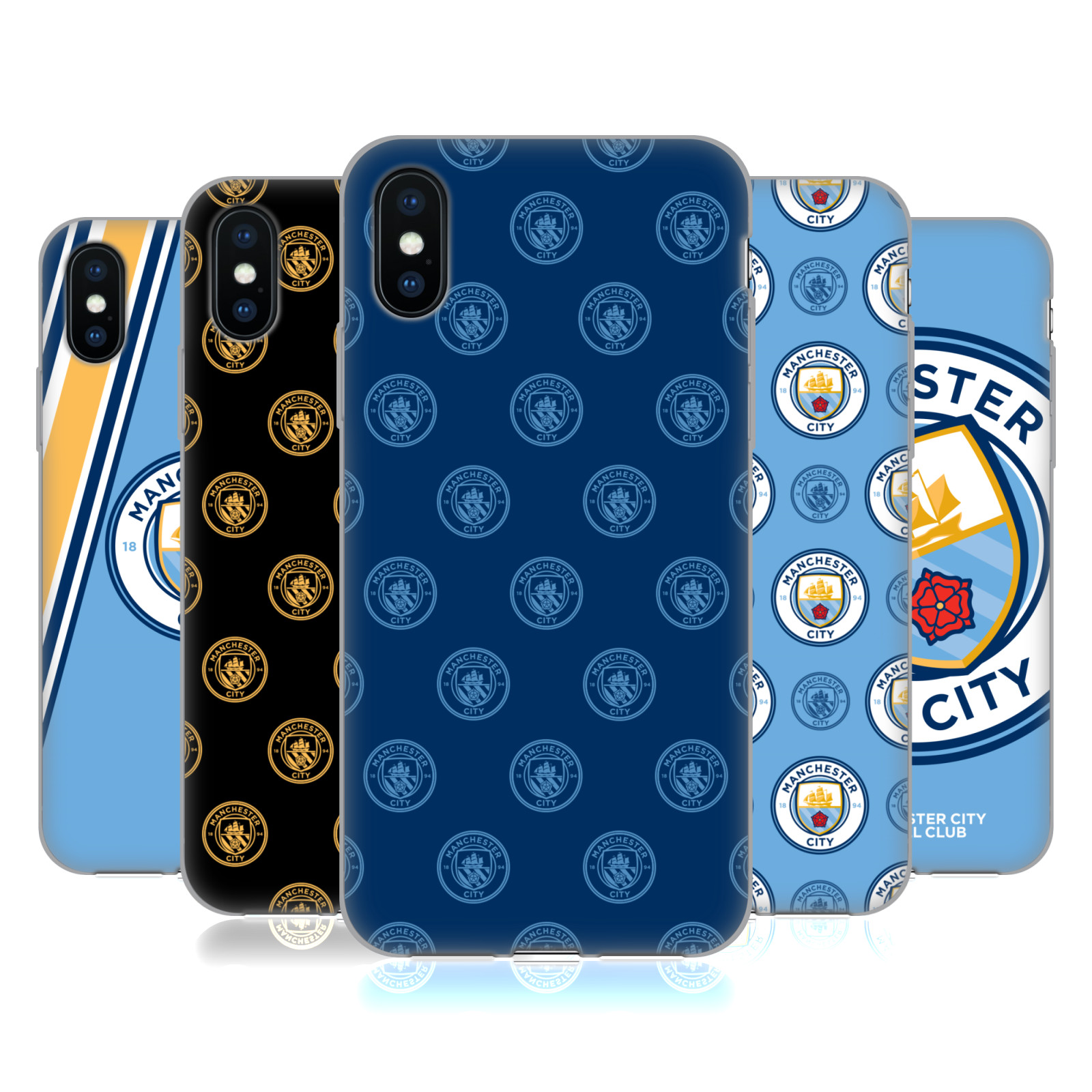 Manchester City Man City FC 2017/18 Badge