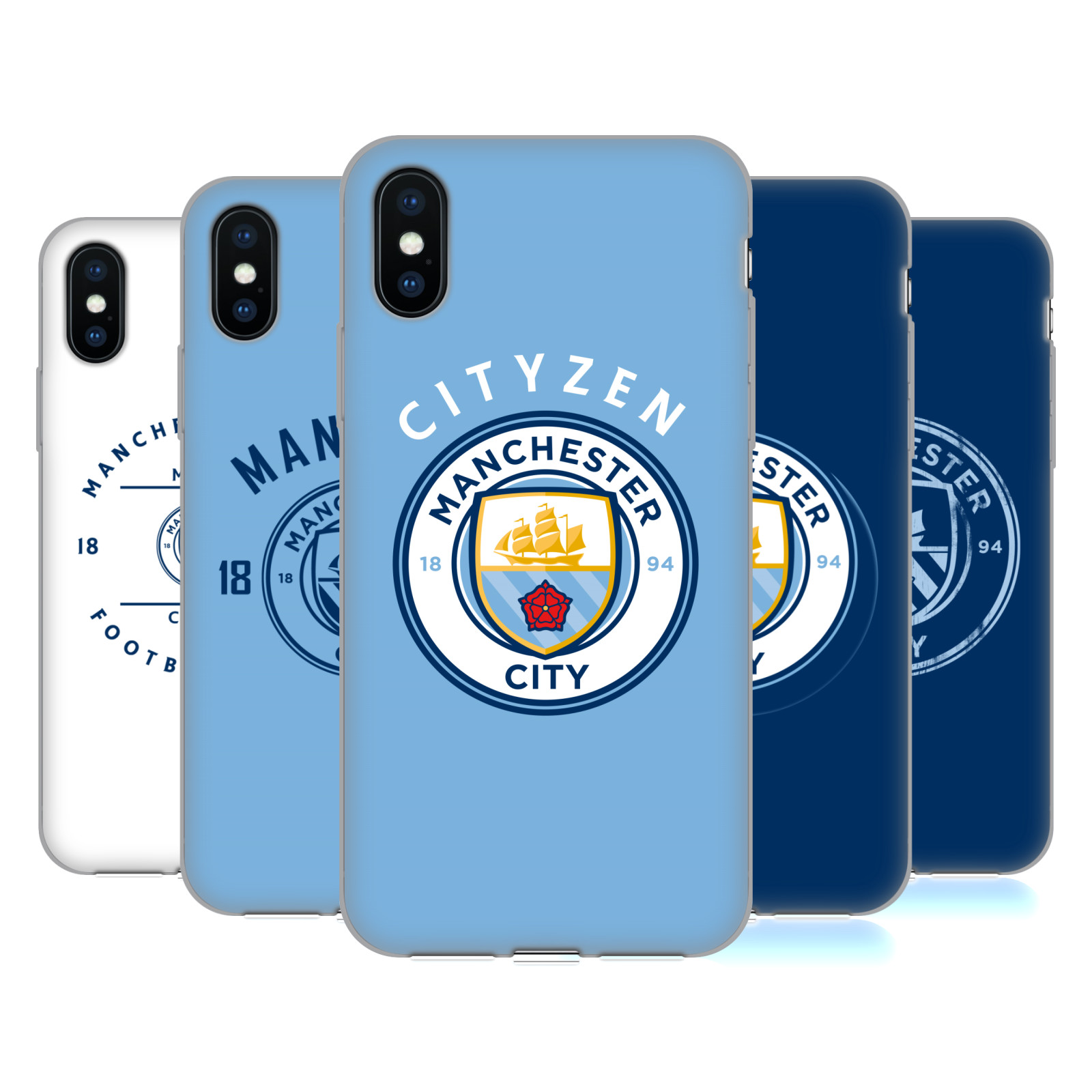 Manchester City Man City FC 2018/19 Badge