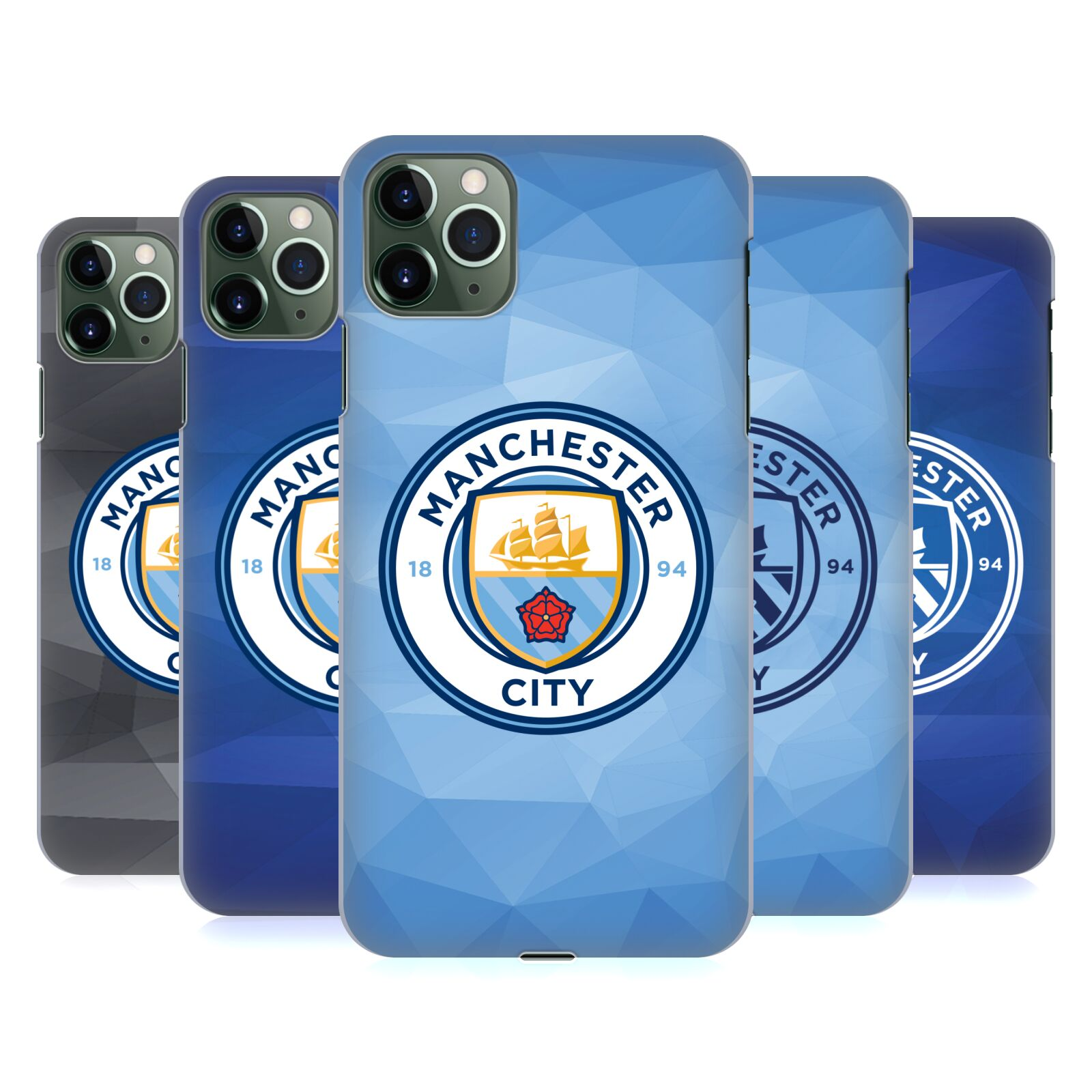Official Manchester City Man City FC Badge Geometric