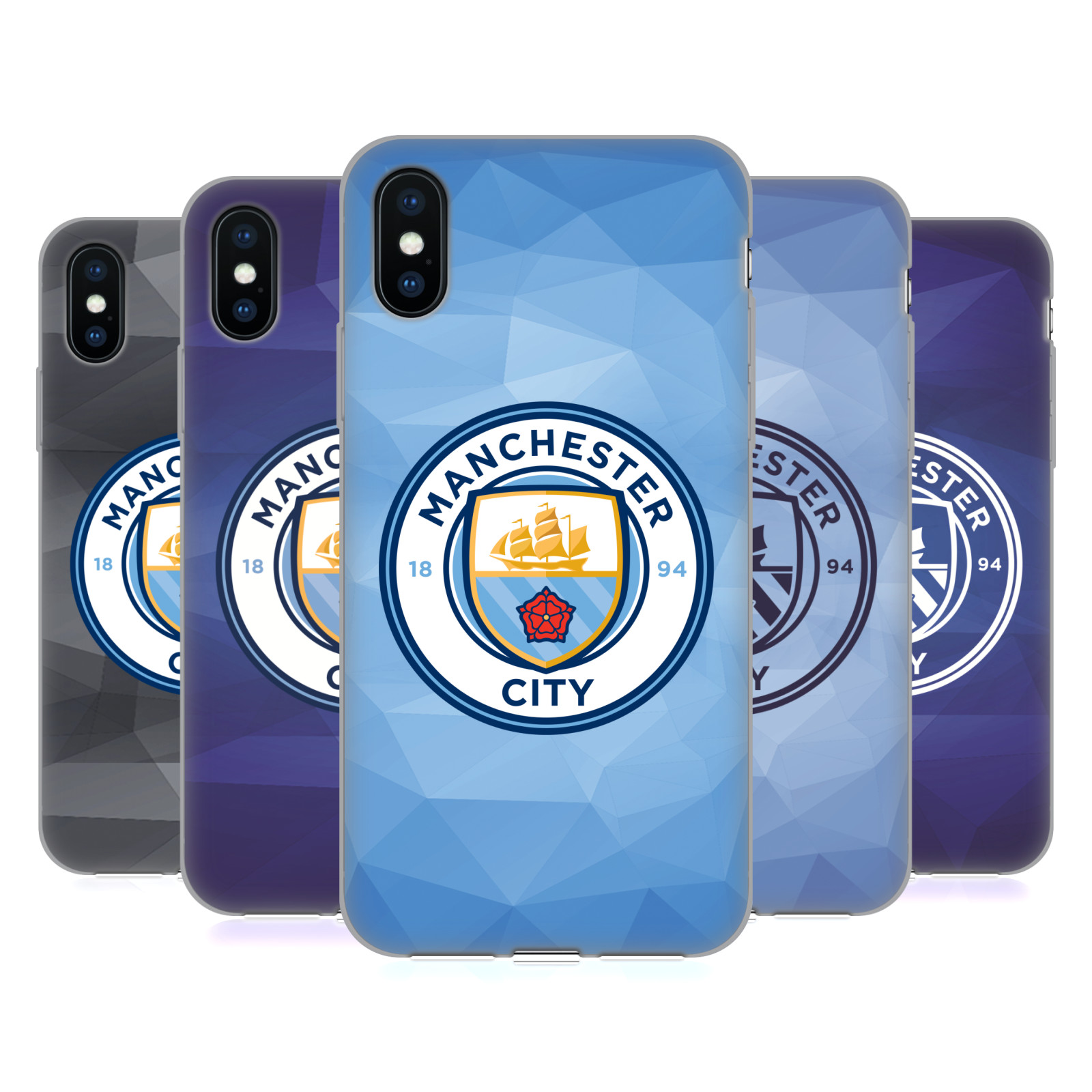 Manchester City Man City FC Badge Geometric