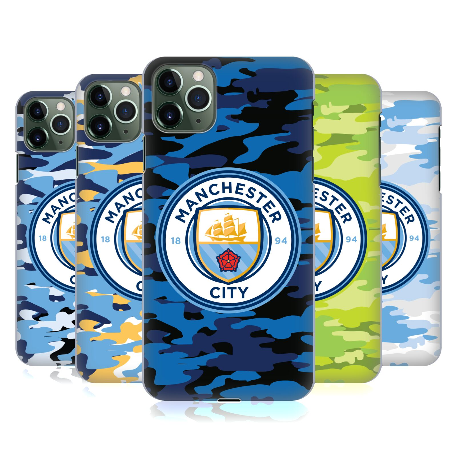 Official Manchester City Man City FC Badge Camou