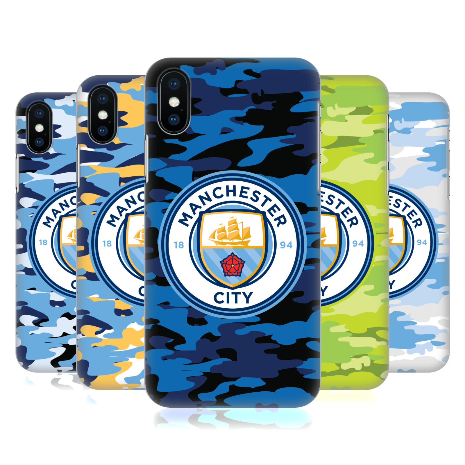 Manchester City Man City FC Badge Camou