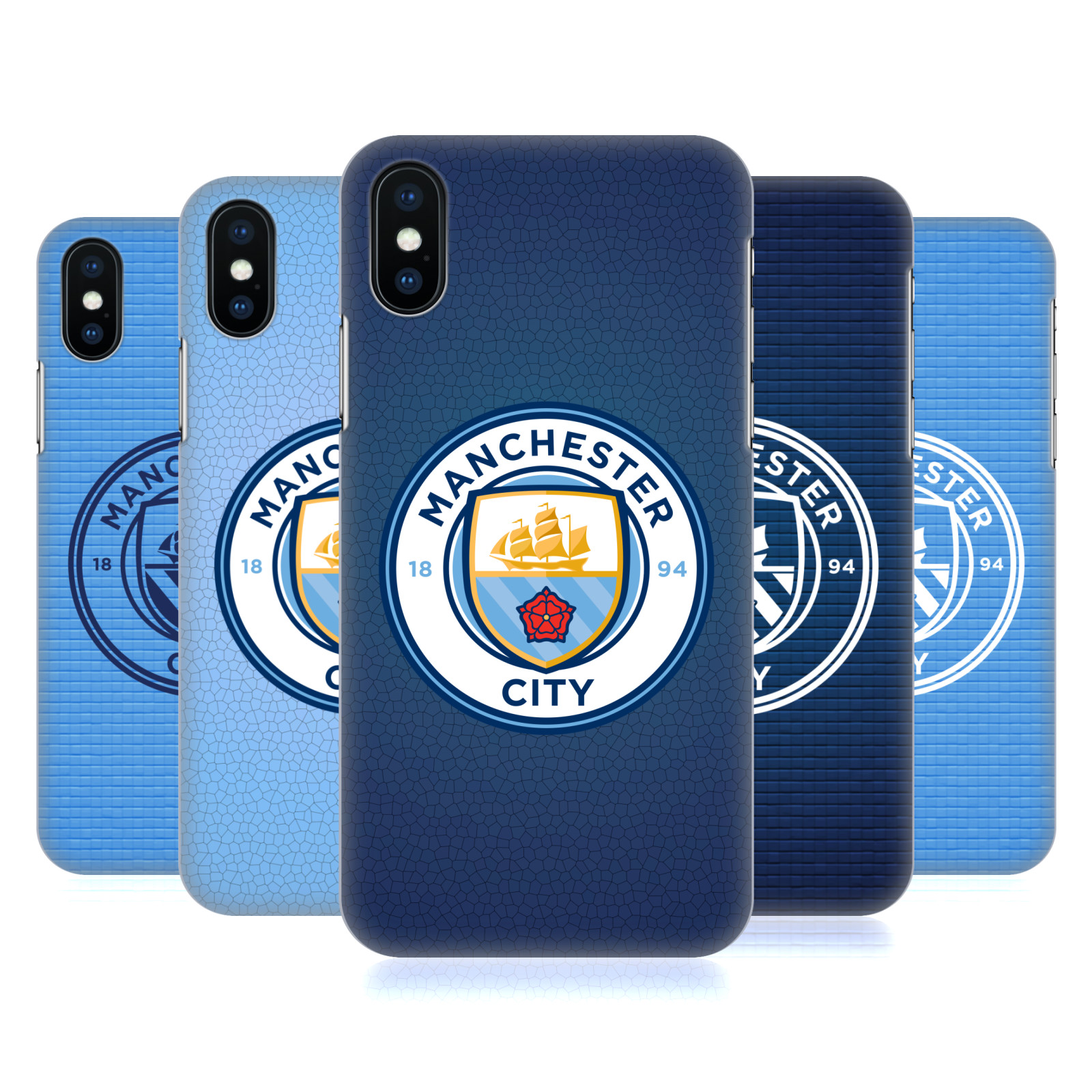 Manchester City Man City FC Badge Pixels