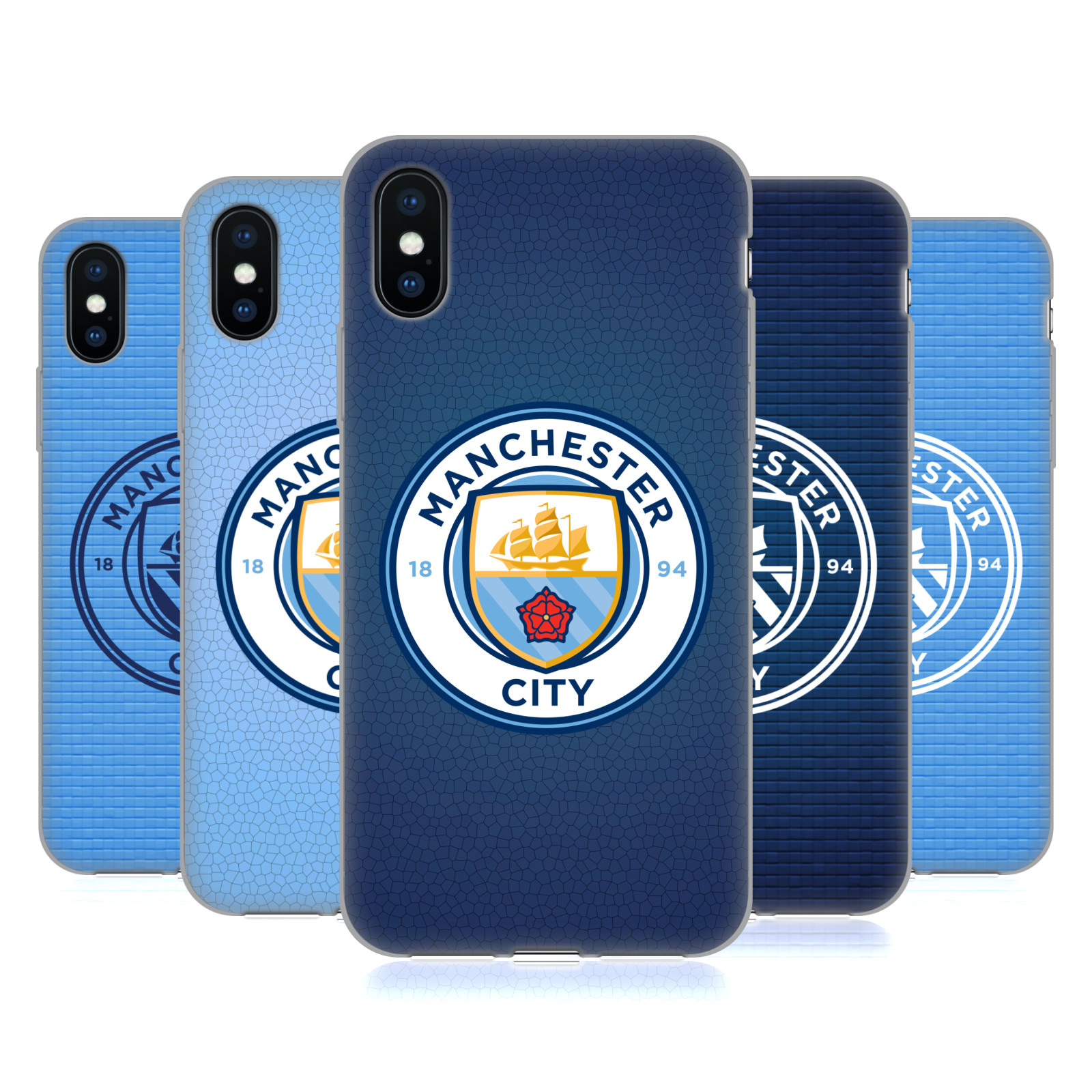 Manchester City Man City FC Badge Pixels