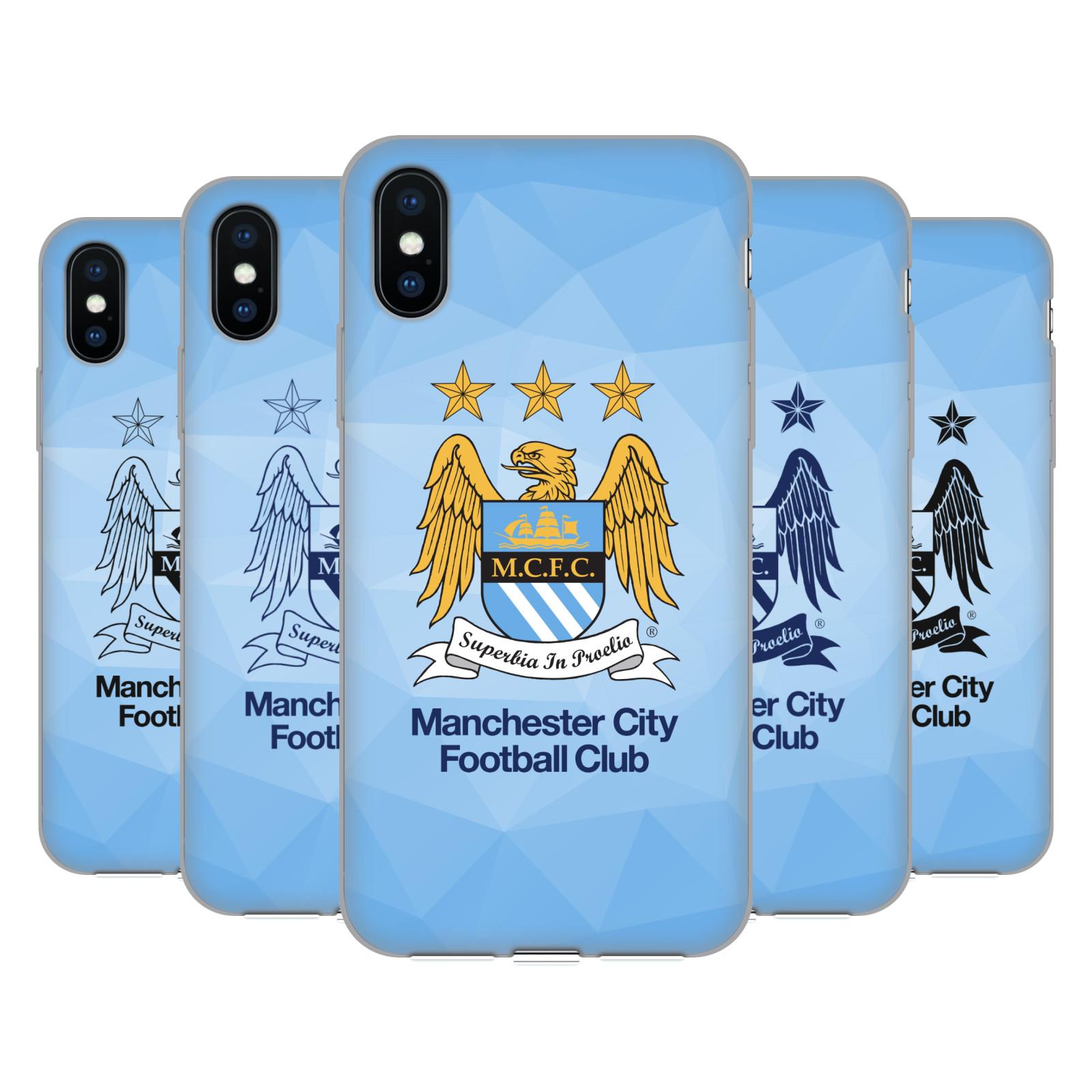 Manchester City Man City FC Crest Geometric