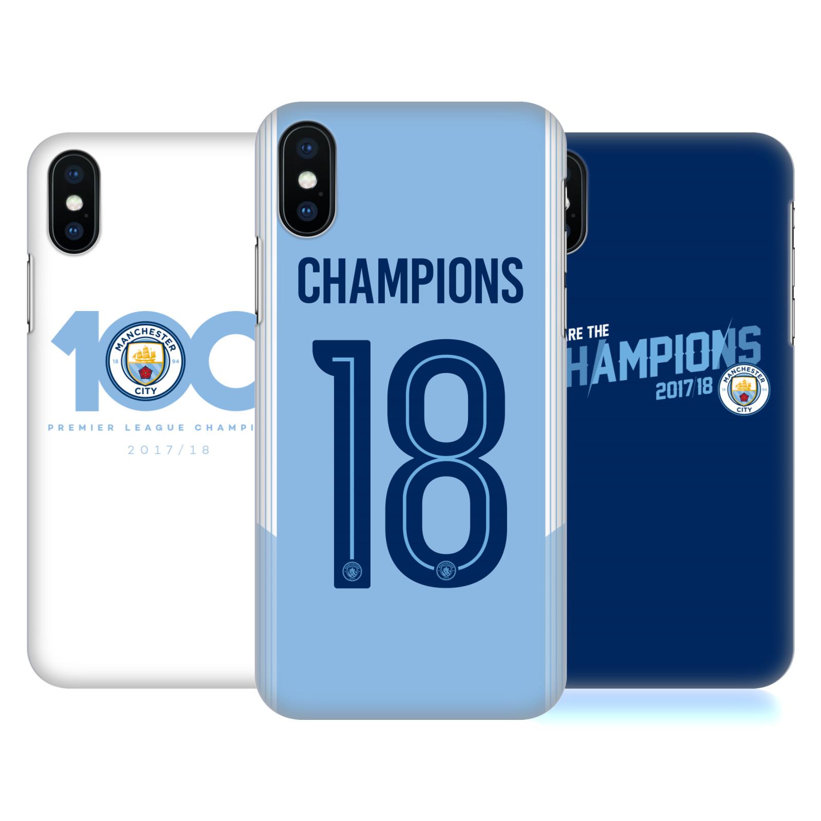 Manchester City Man City FC 2017/18 Champions