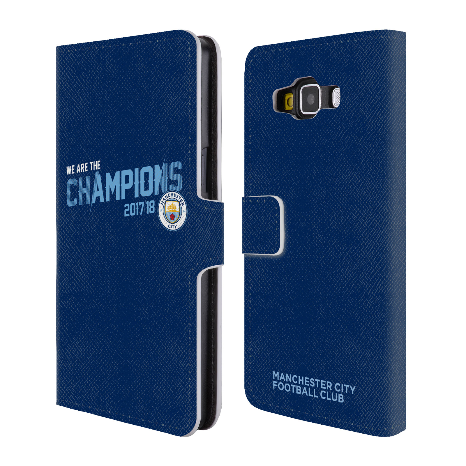 MAN-CITY-FC-2017-18-CHAMPIONS-LEATHER-BOOK-WALLET-CASE-FOR-SAMSUNG-PHONES-2