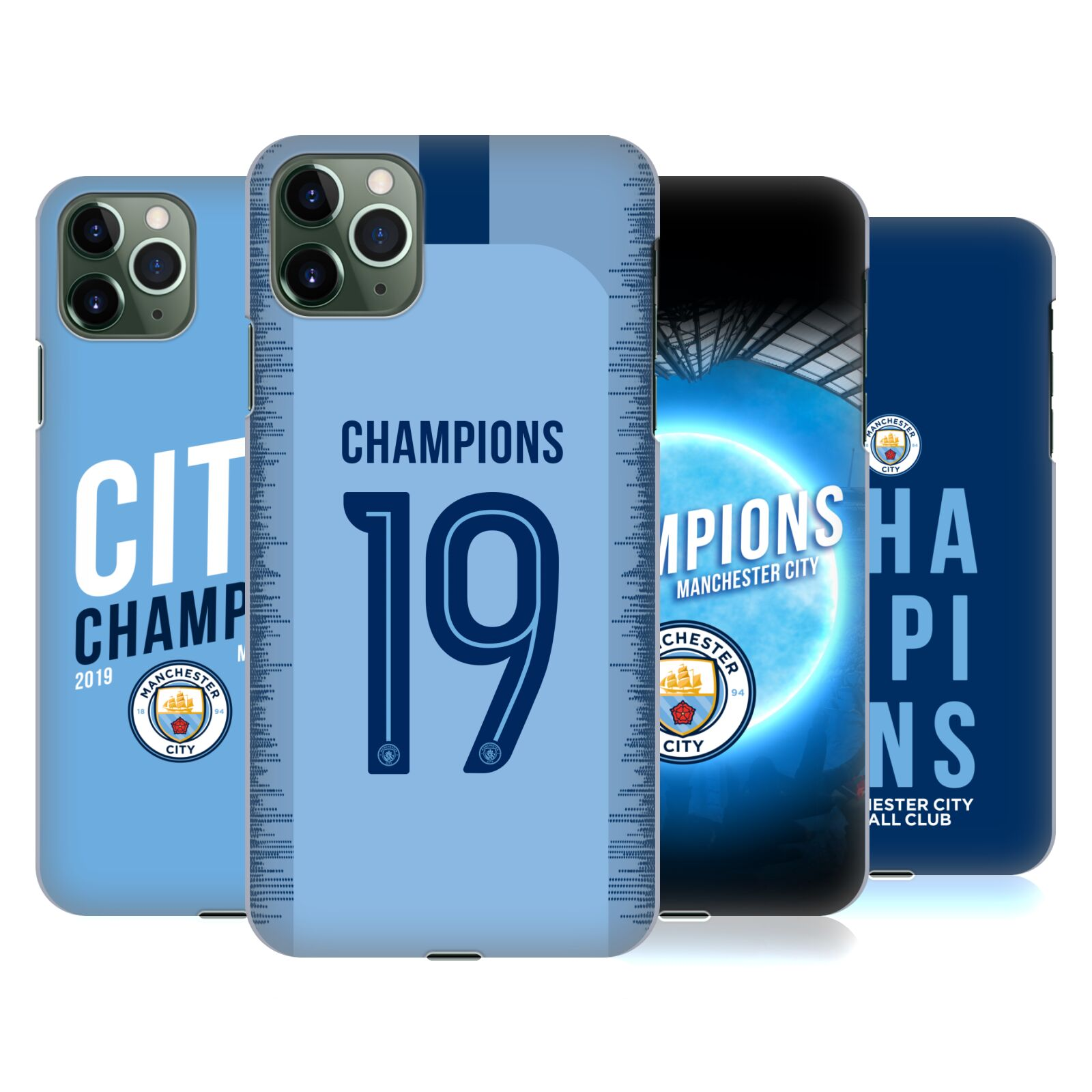 Official Manchester City Man City FC 2019 Champions