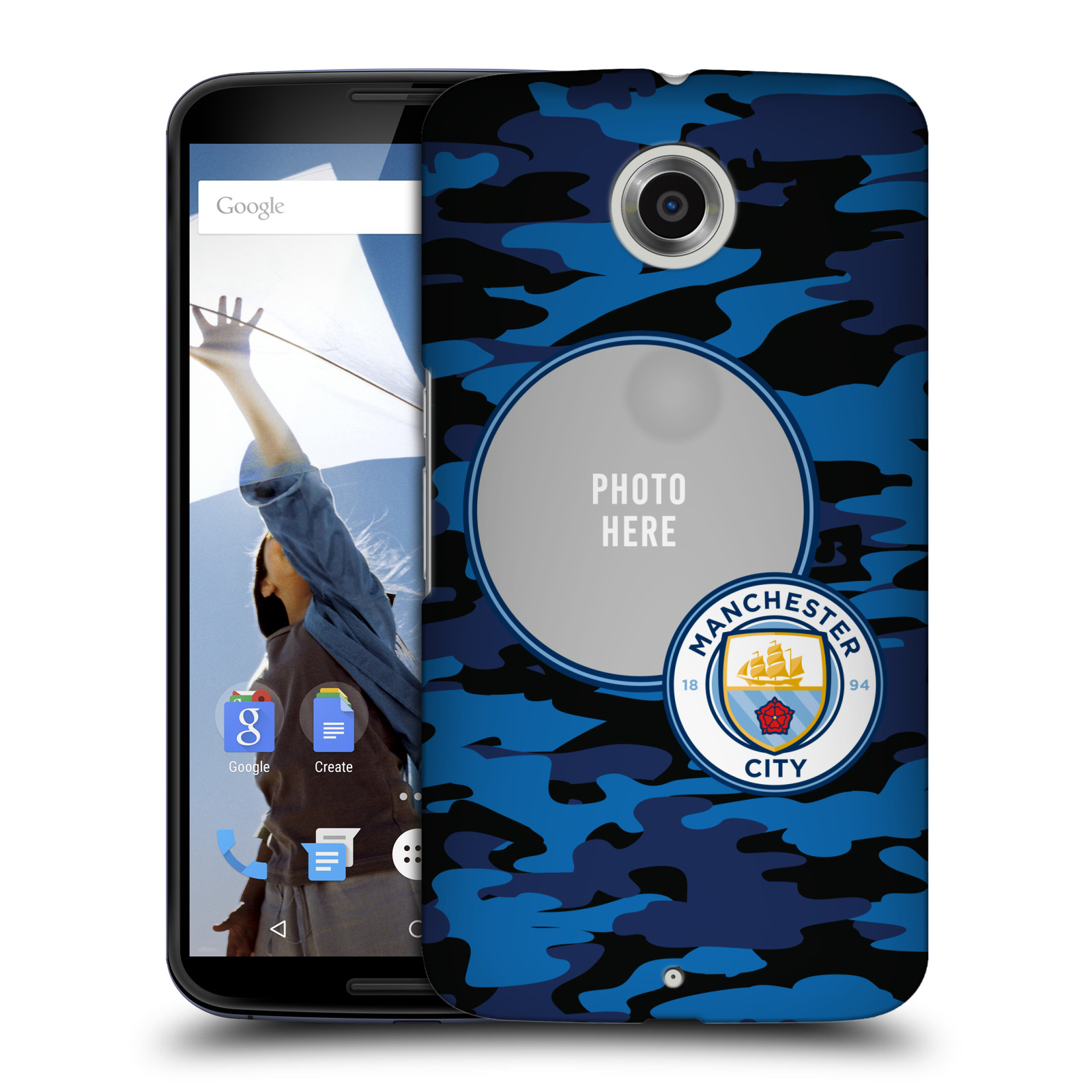 CUSTOM-MANCHESTER-CITY-FC-2017-18-KIT-E-LOGO-COVER-RETRO-PER-MOTOROLA-TELEFONI-2