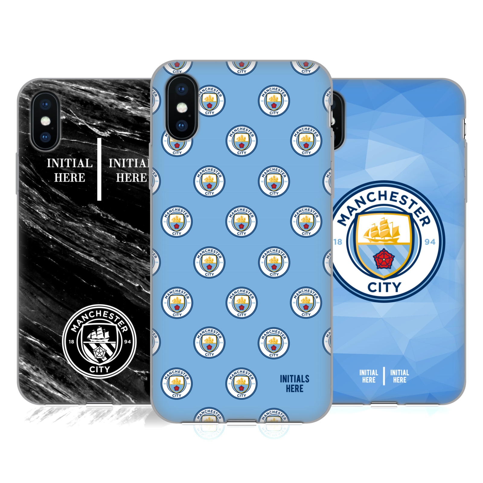 Manchester City Man City FC <!--translate-lineup-->2017/18 Personalised<!--translate-lineup-->