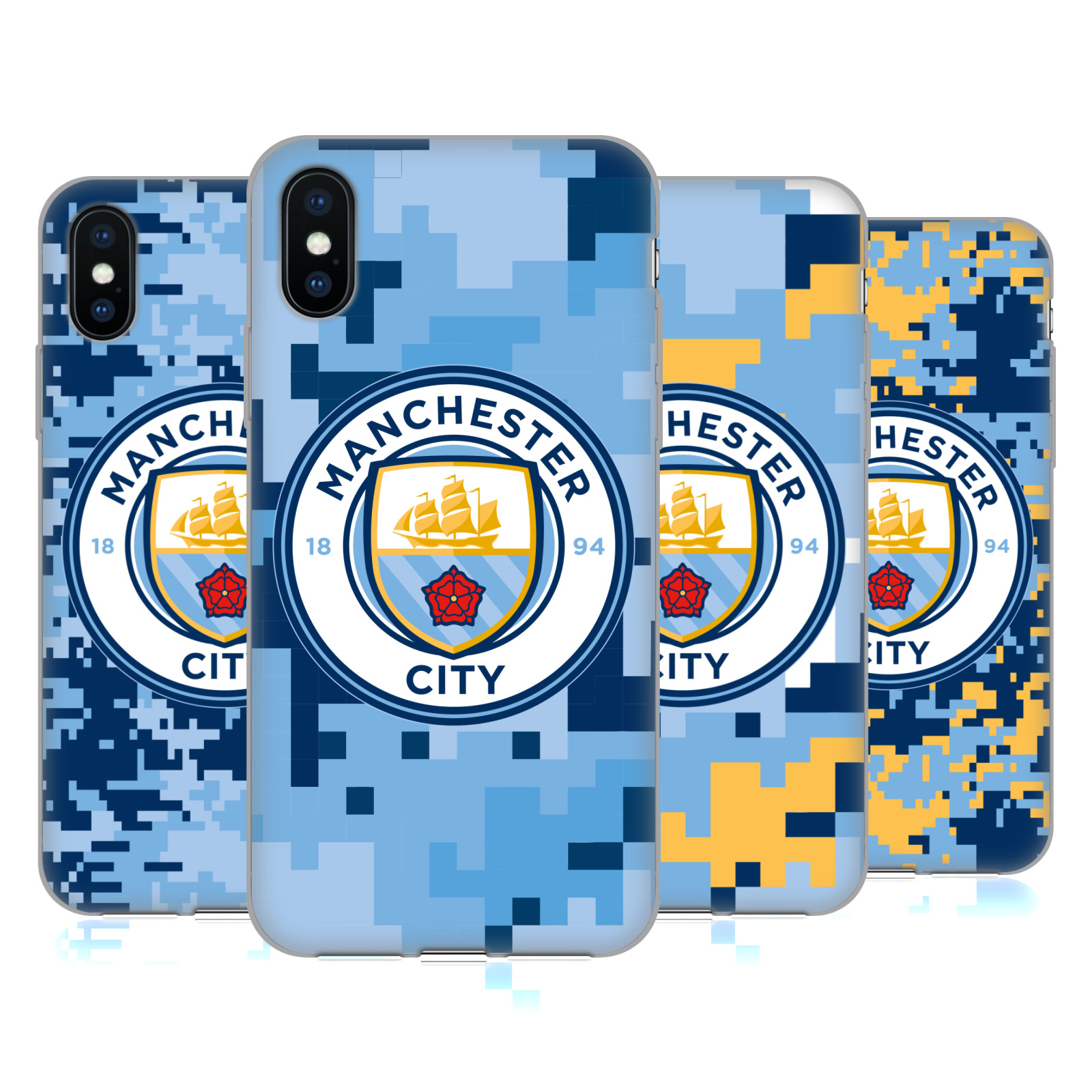 Manchester City Man City FC Digital Camouflage