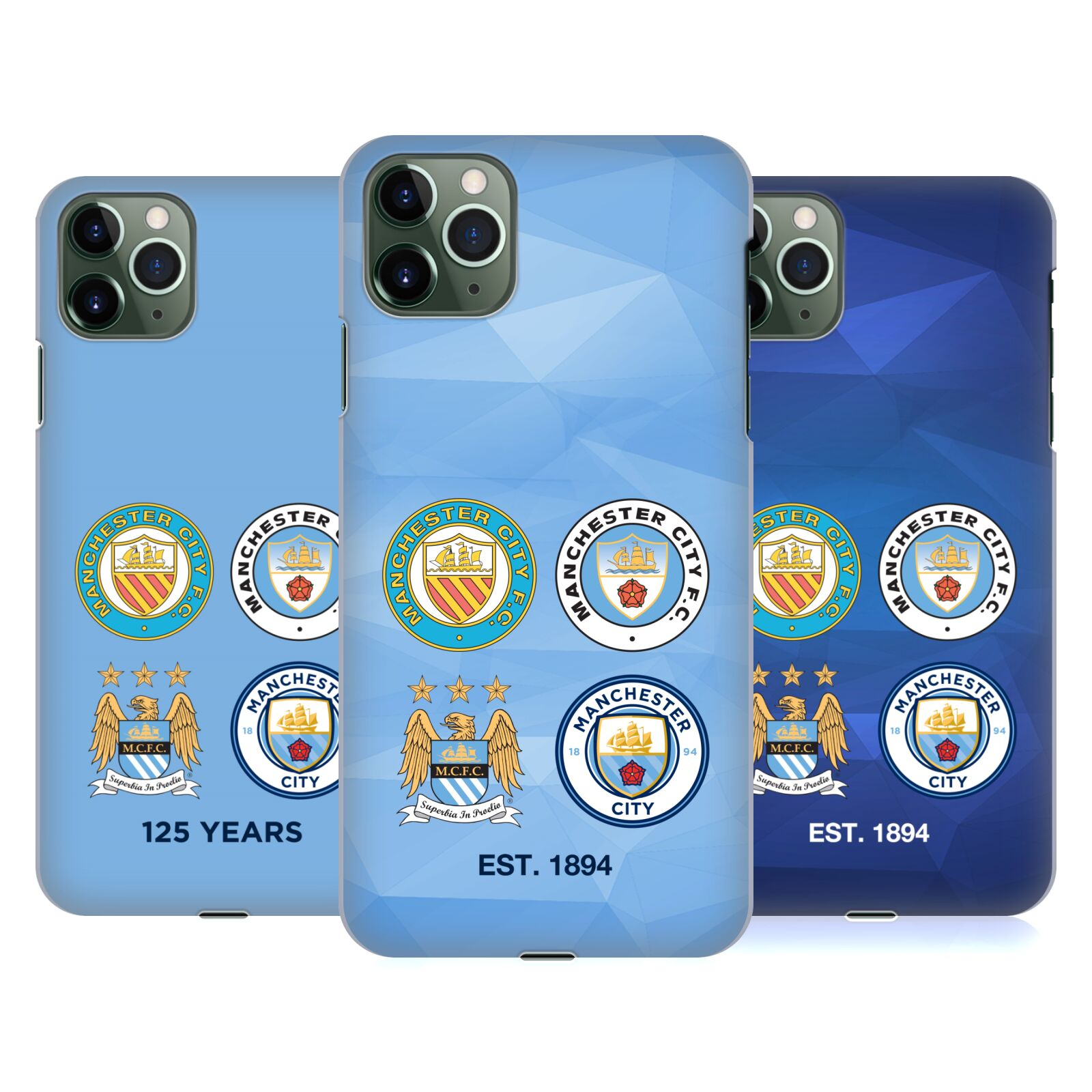 Official Manchester City Man City FC Historic Crest Evolution