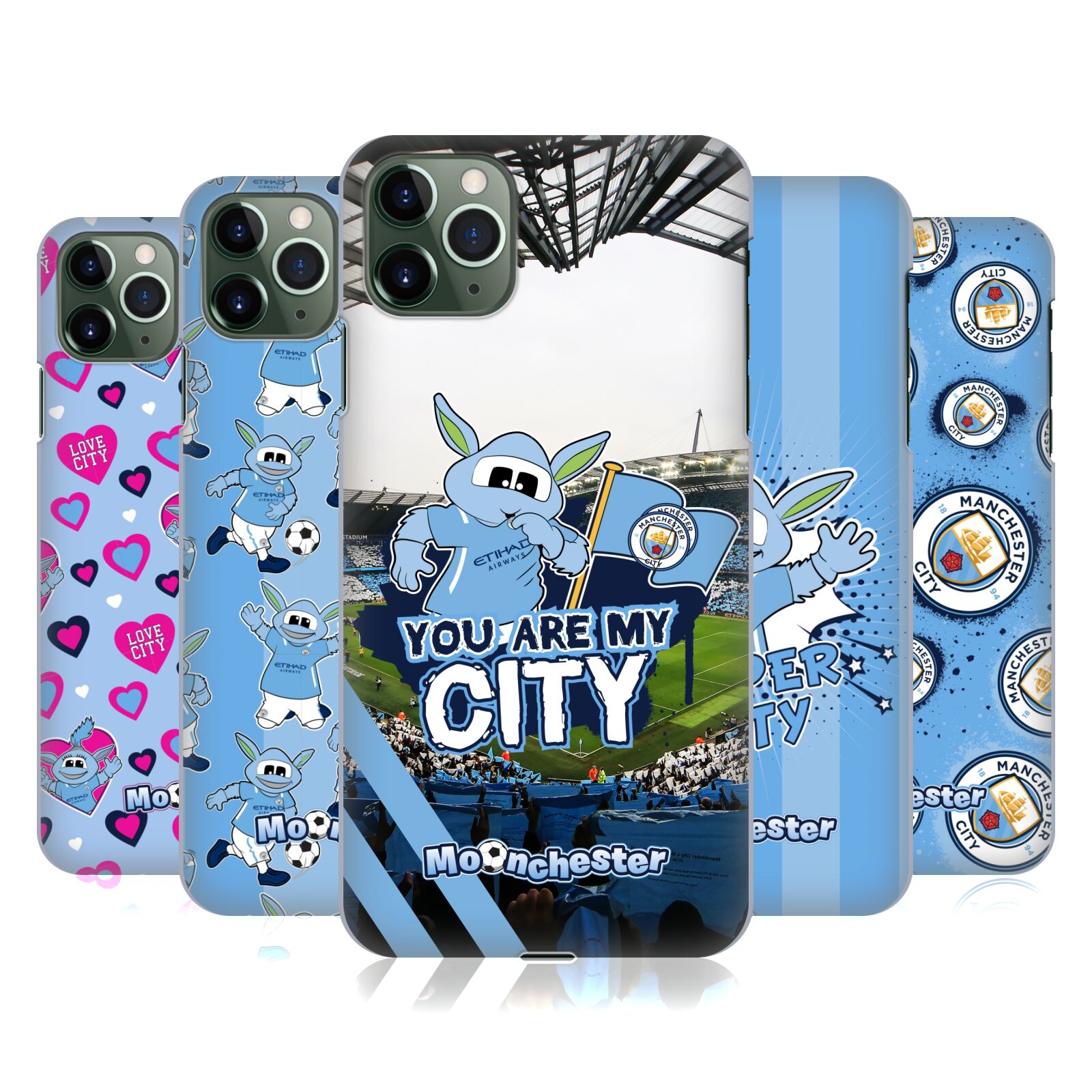 Official Manchester City Man City FC Moonchester & Moonbeam