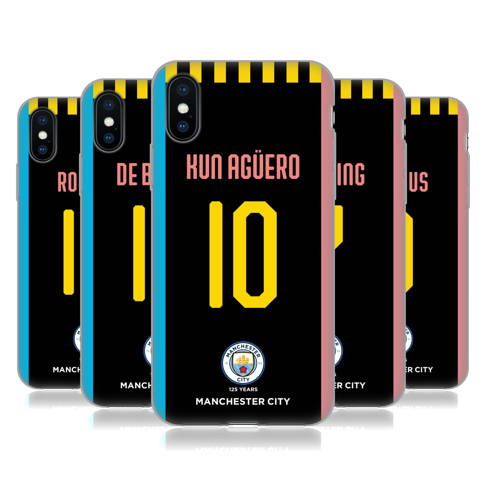 Manchester City Man City FC <!--translate-lineup-->2019/20 PLAYERS AWAY KIT GROUP 1<!--translate-lineup-->