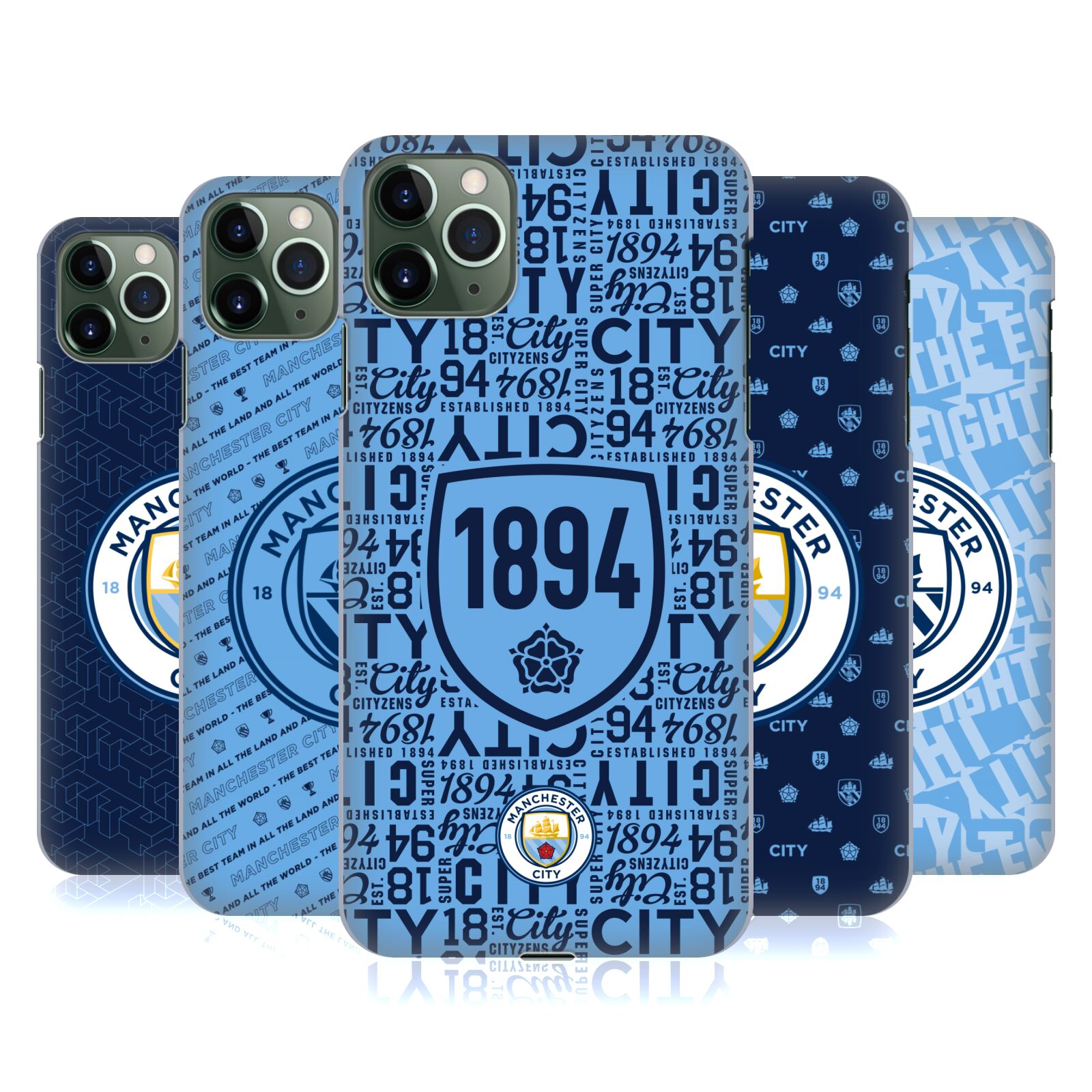 Official Manchester City Man City FC Patterns