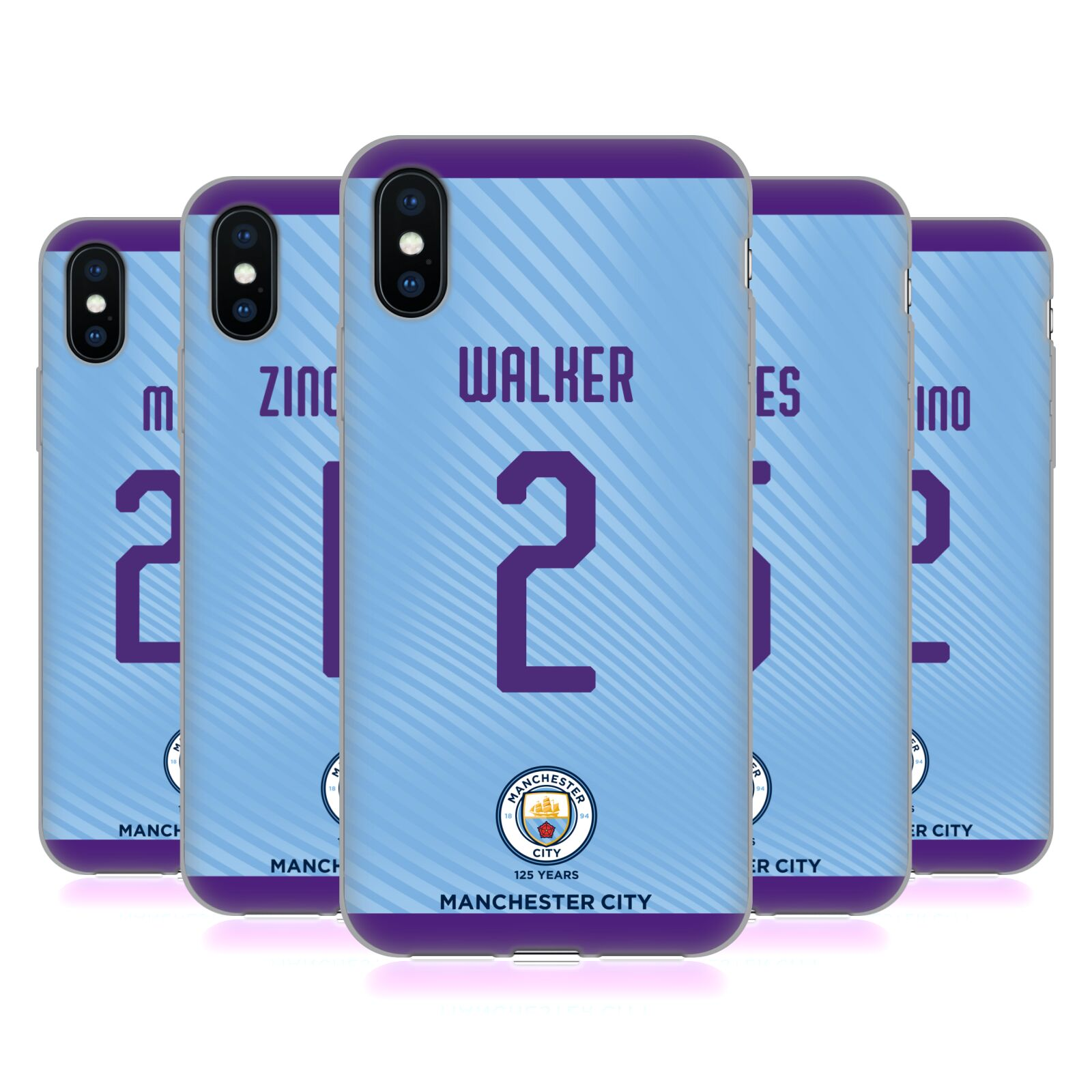 Manchester City Man City FC <!--translate-lineup-->2019/20 PLAYERS HOME KIT GROUP 2<!--translate-lineup-->