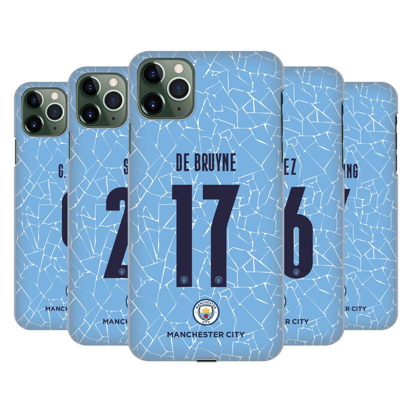 Official Manchester City Man City FC 2020/21 Players Home Kit Group 1