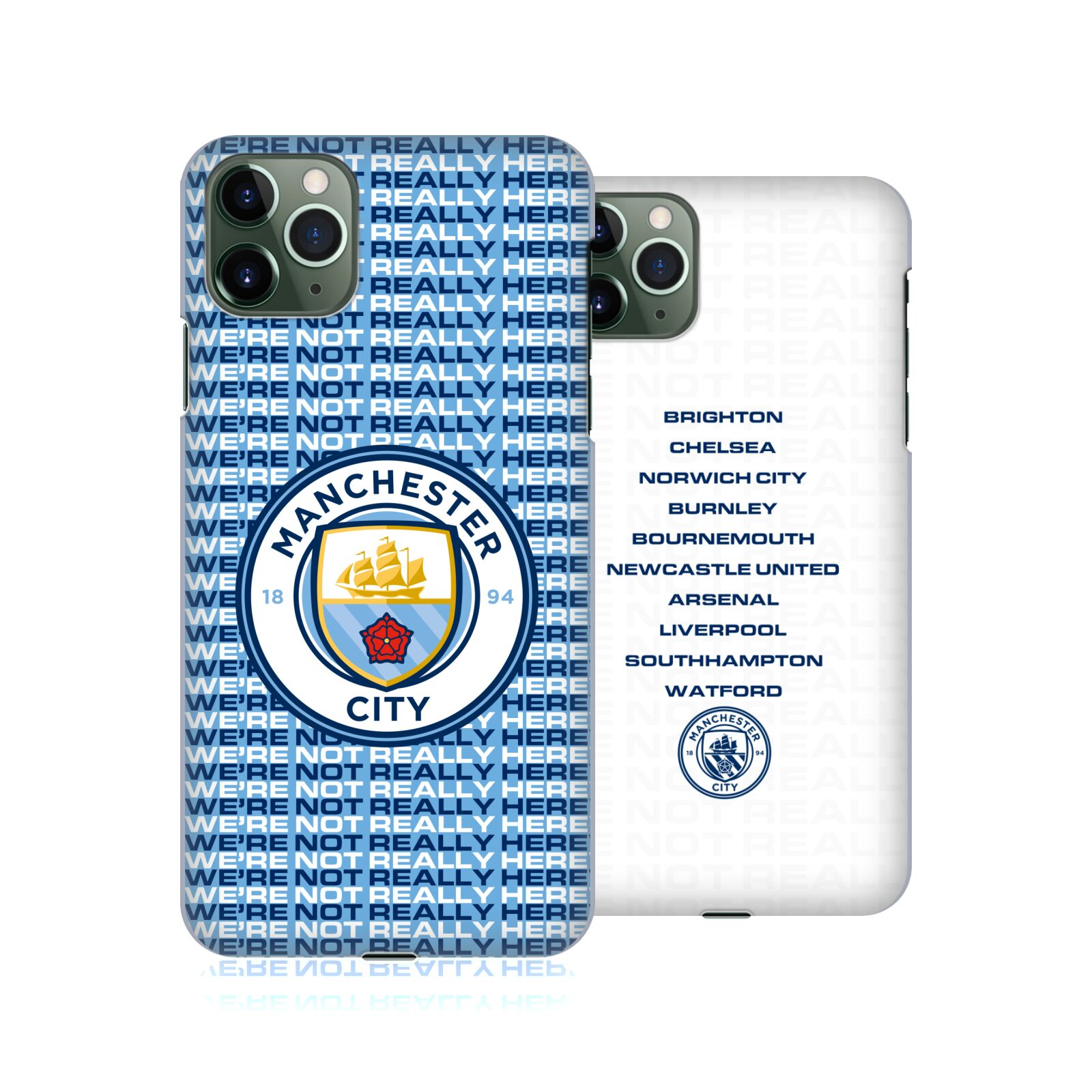 Official Manchester City Man City FC We're Not Really Here