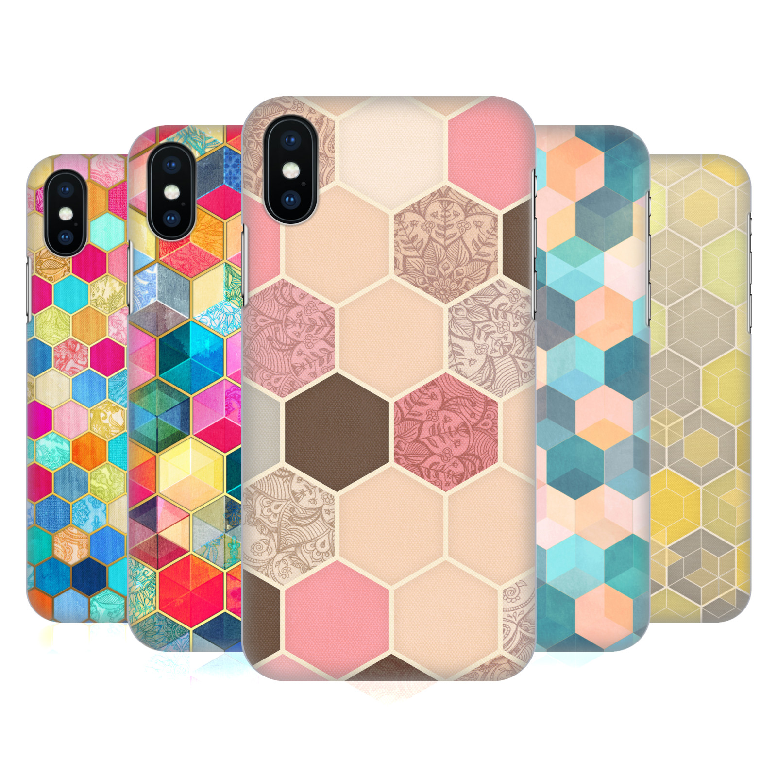 Micklyn Le Feuvre Hexagon Patterns