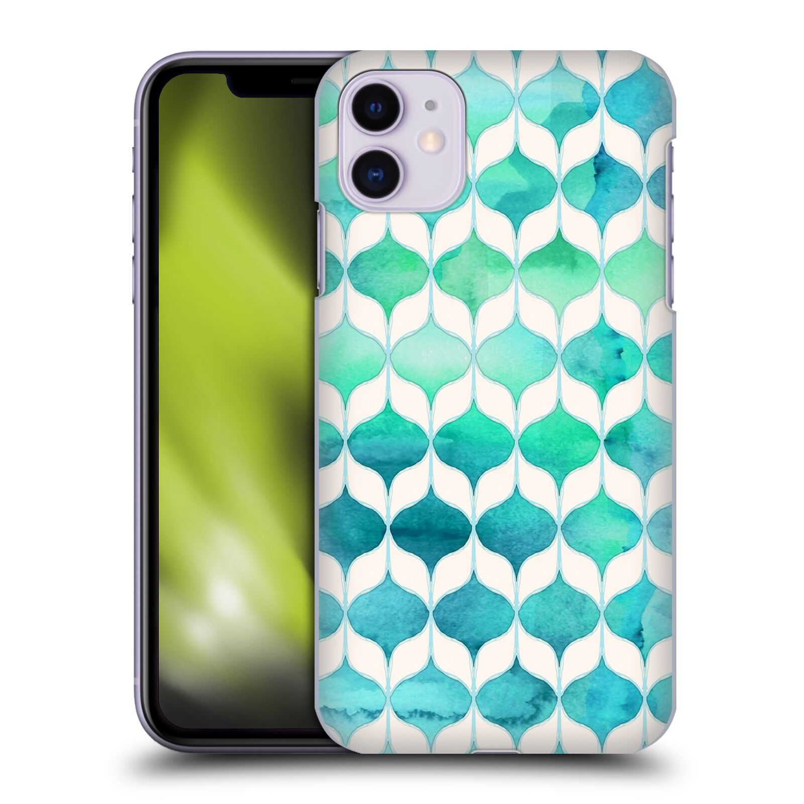 Official Micklyn Le Feuvre Quatrefoil 2 Ocean Rhythms And Mermaids Tails Case for Apple iPhone 11