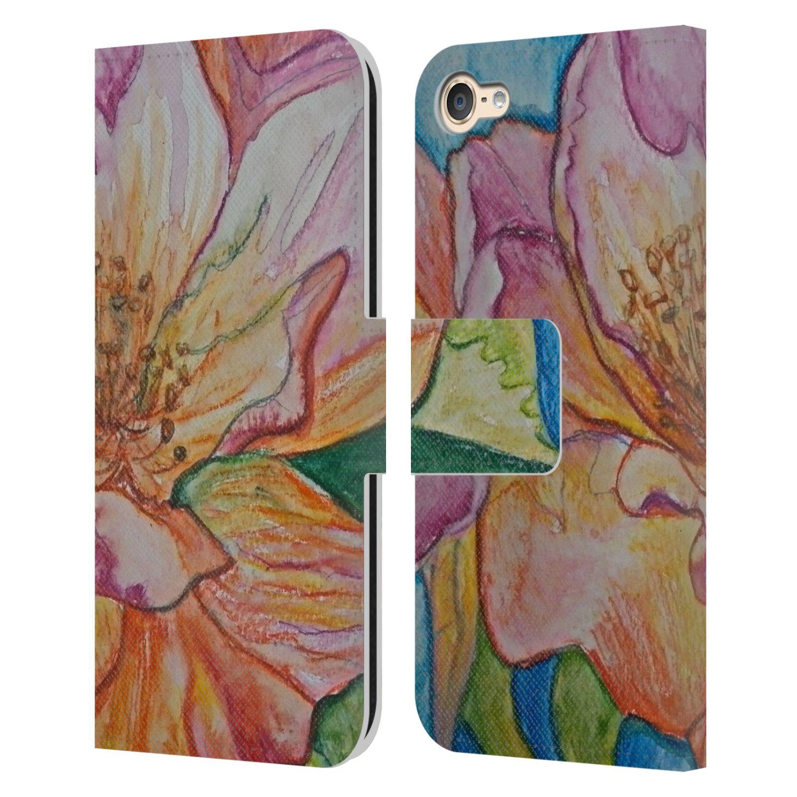 Libro-de-cuero-oficial-Magdalena-Hristova-Flores-caso-para-Apple-iPod-Touch-MP3