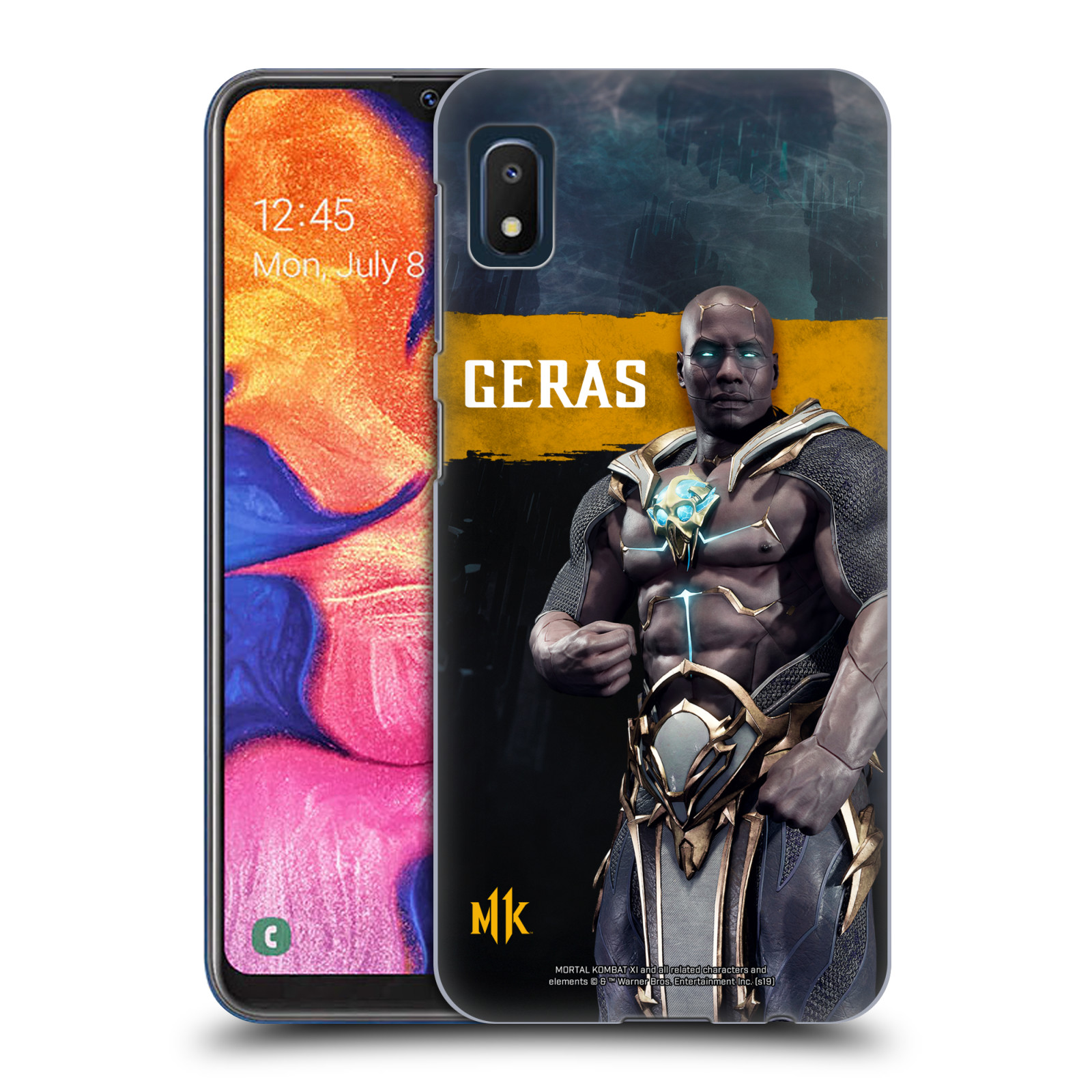 Official Mortal Kombat 11 Characters Geras Case for Samsung Galaxy A10e (2019)