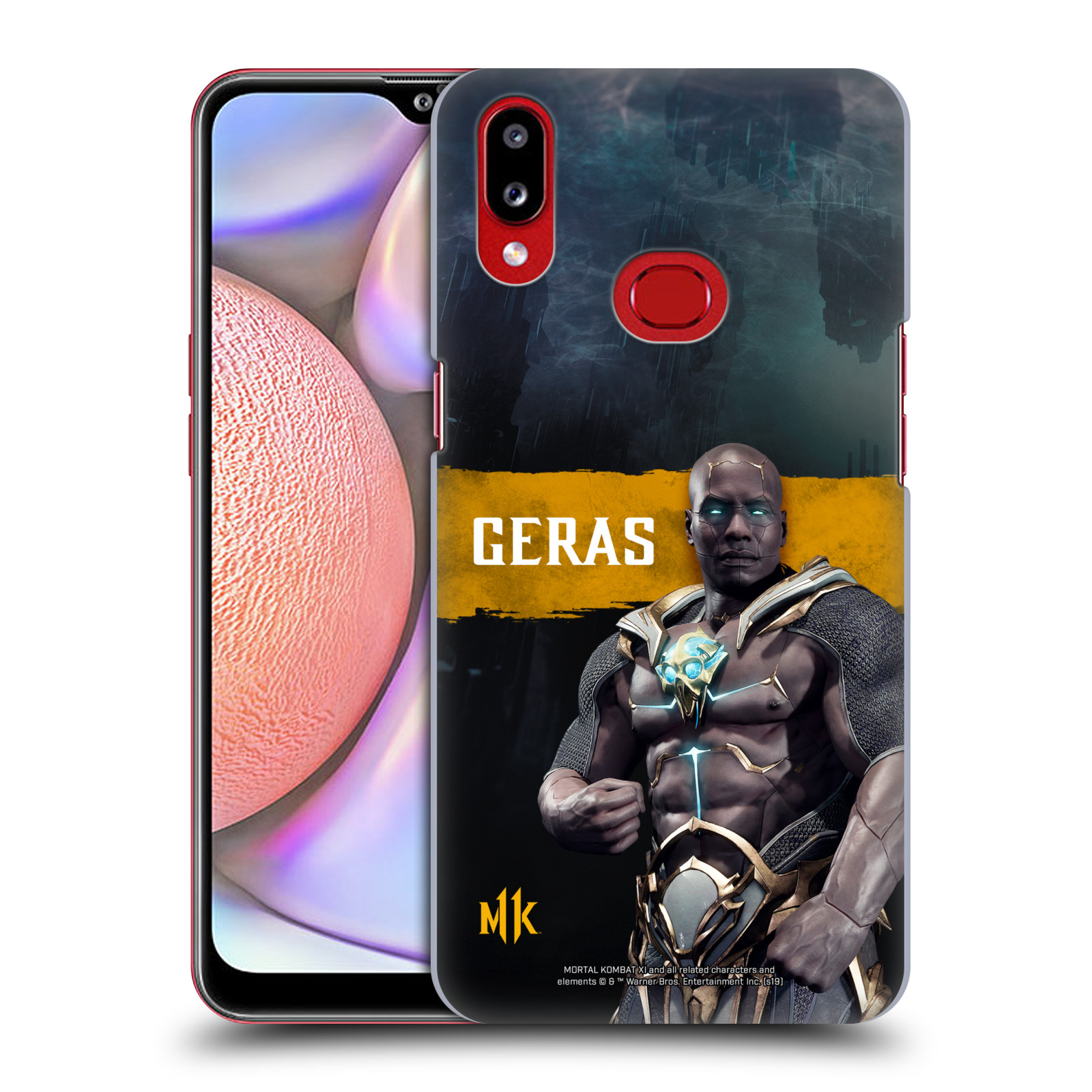 Official Mortal Kombat 11 Characters Geras Case for Samsung Galaxy A10s (2019)