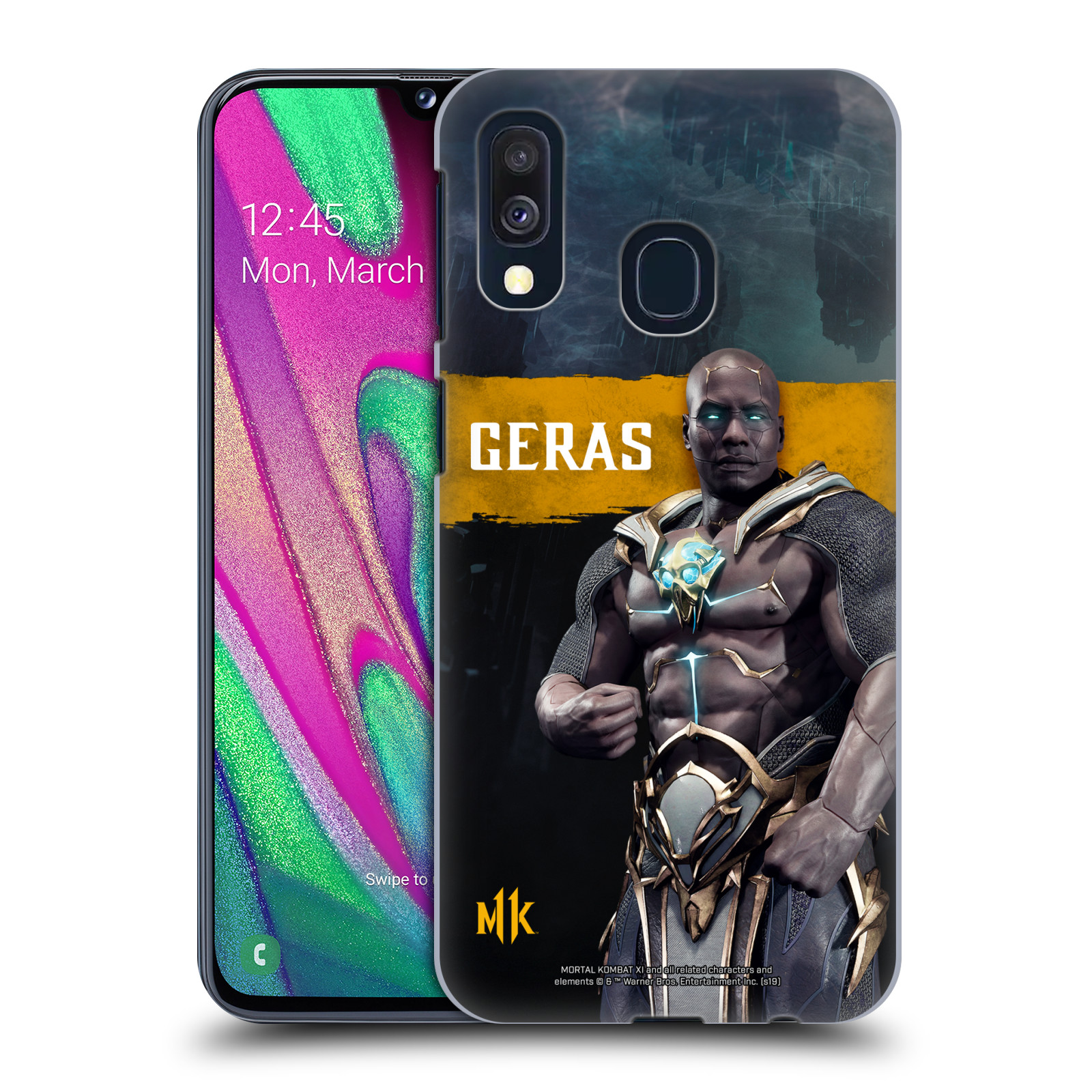 Official Mortal Kombat 11 Characters Geras Case for Samsung Galaxy A40 (2019)
