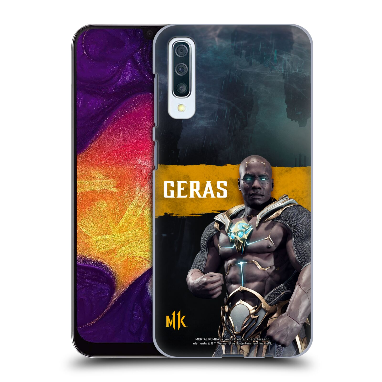 Official Mortal Kombat 11 Characters Geras Case for Samsung Galaxy A50s (2019)