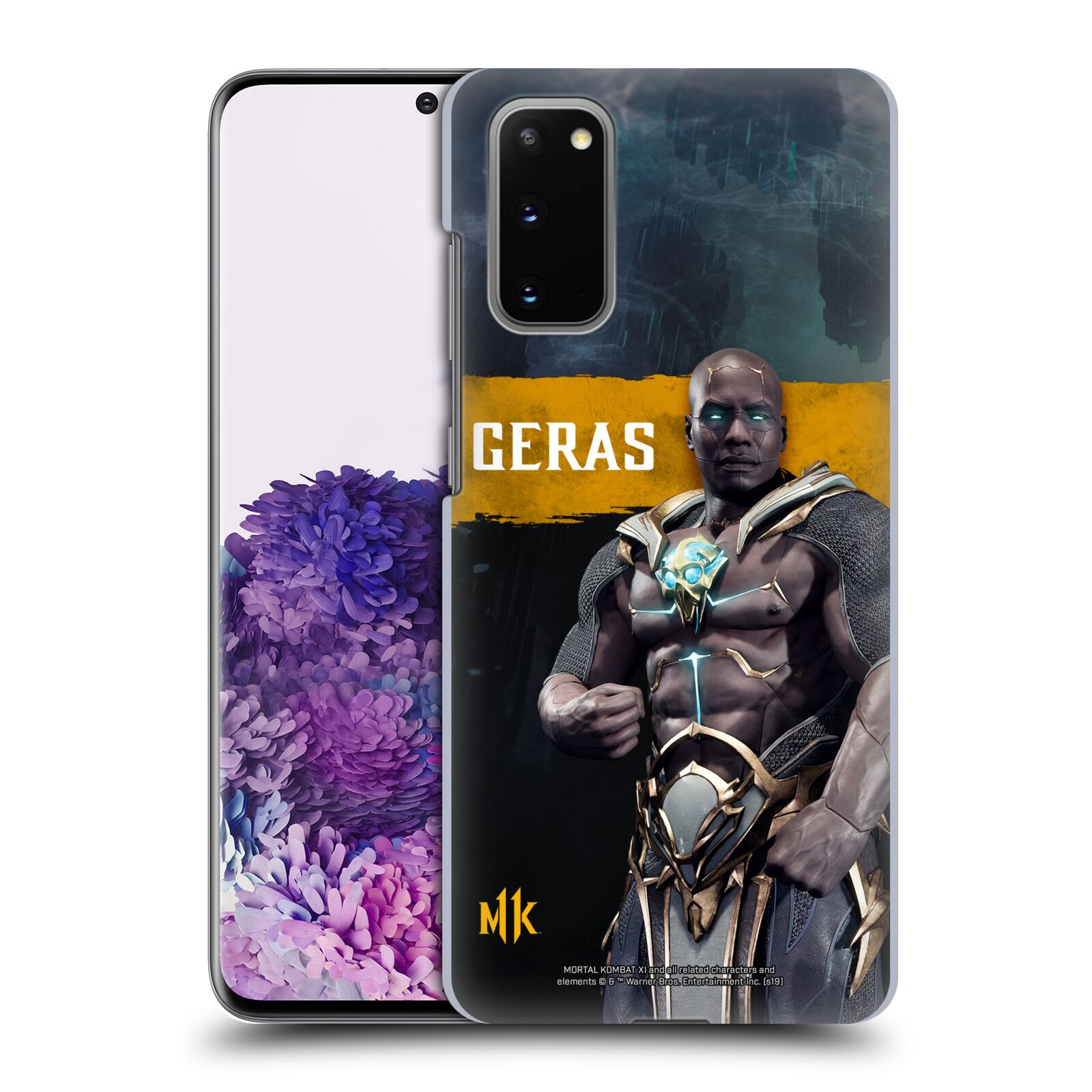 Official Mortal Kombat 11 Characters Geras Case for Samsung Galaxy S20 / S20 5G