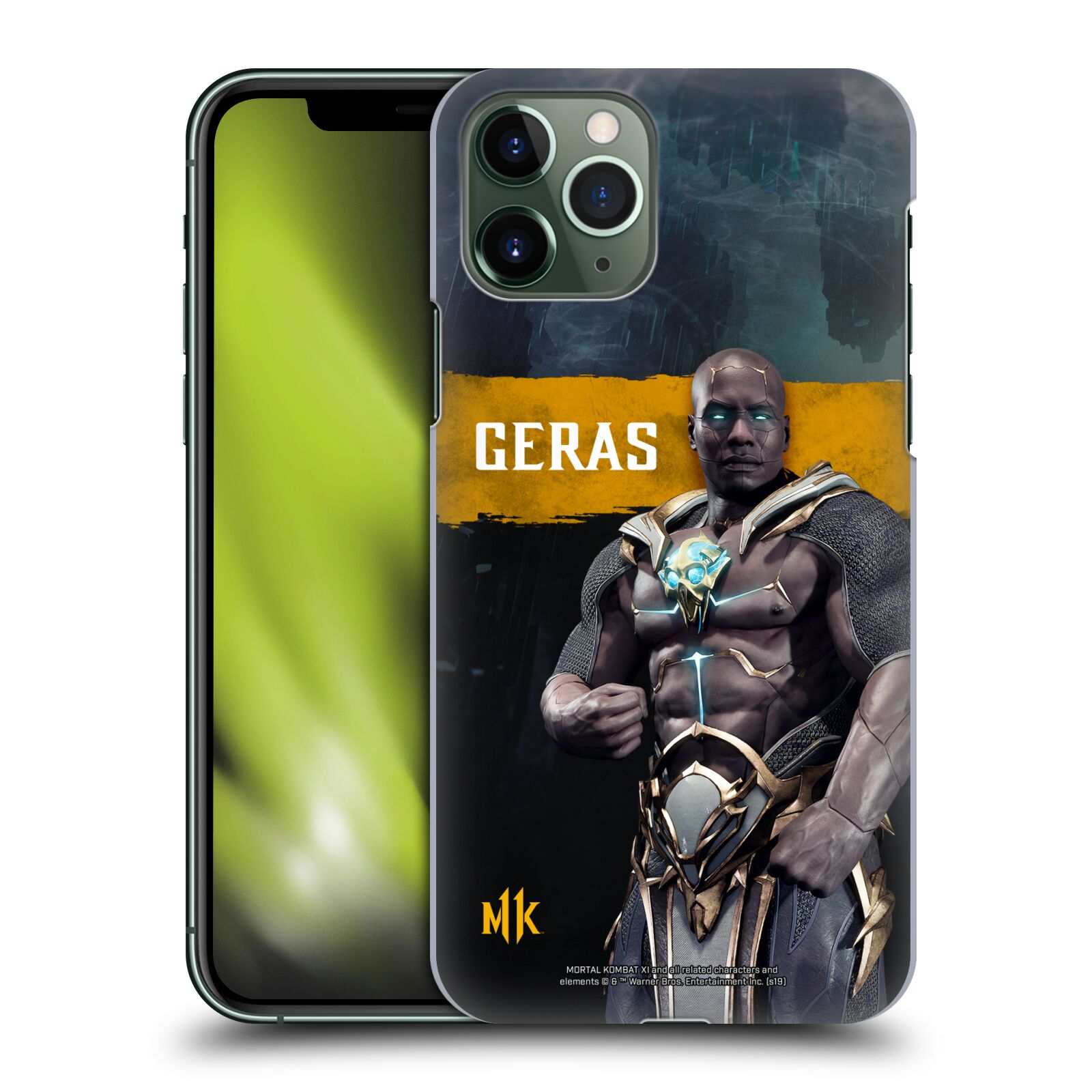 Official Mortal Kombat 11 Characters Geras Case for Apple iPhone 11 Pro
