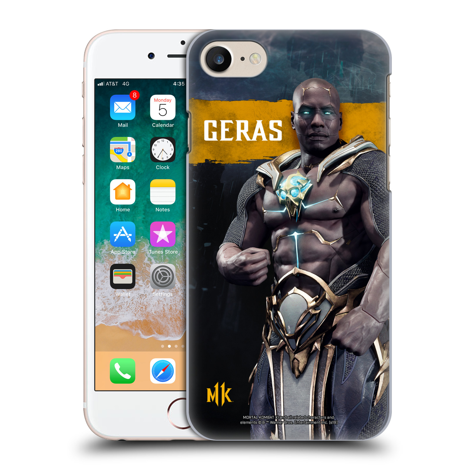 Official Mortal Kombat 11 Characters Geras Case for Apple iPhone 7 / 8 / iPhone SE 2020