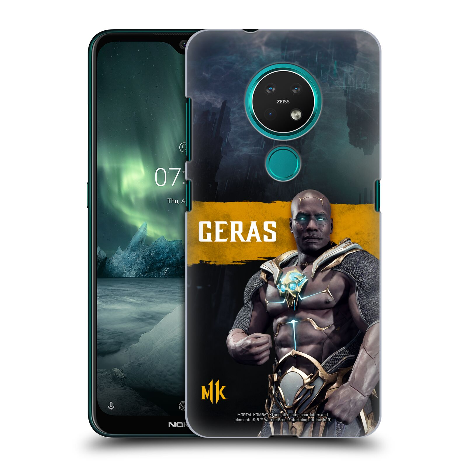 Official Mortal Kombat 11 Characters Geras Case for Nokia 7.2