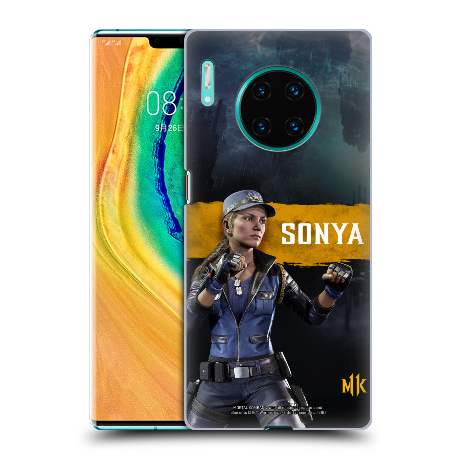Official Mortal Kombat 11 Characters Sonya Case for Huawei Mate 30 Pro / 5G
