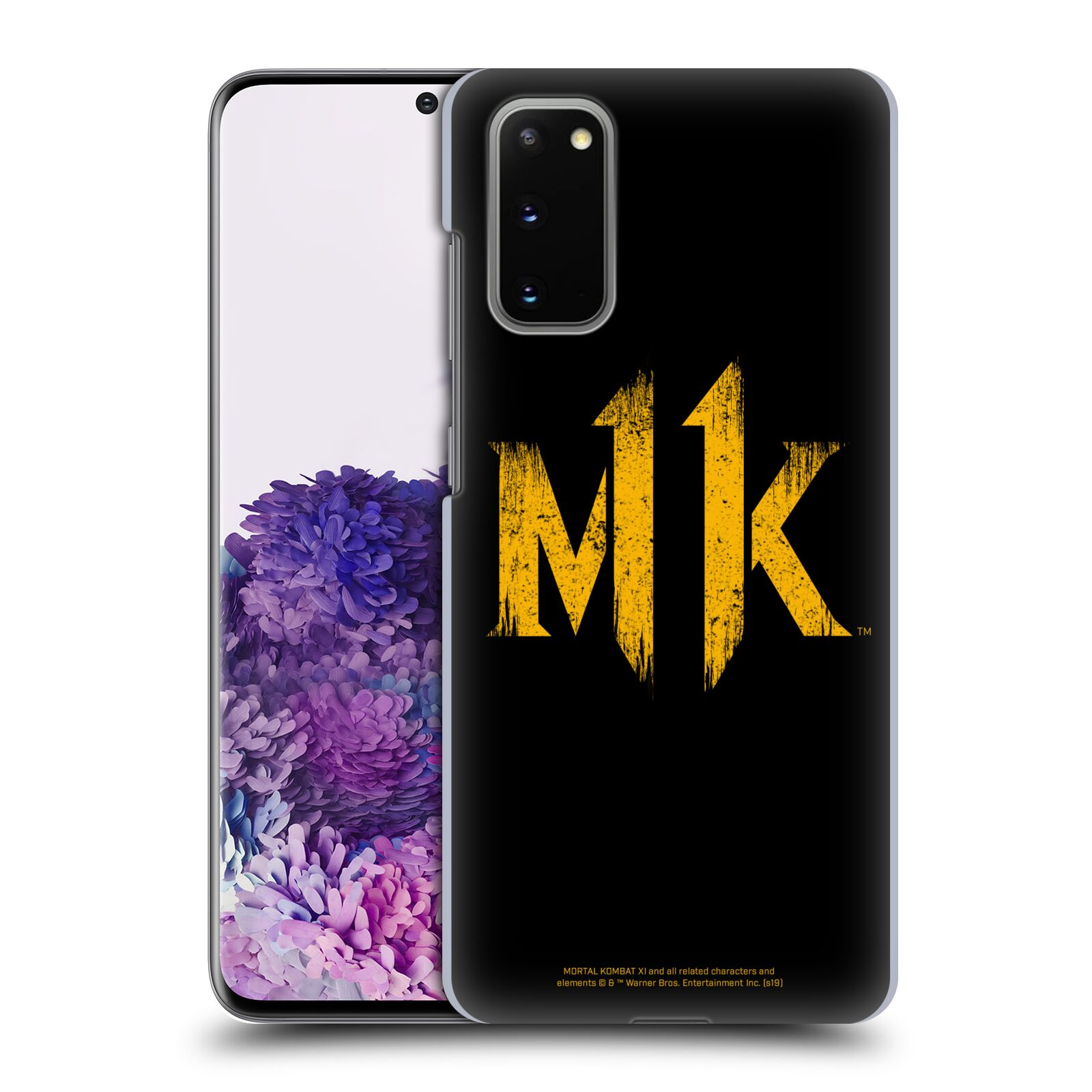 Official Mortal Kombat 11 Logo Art Distressed Look Case for Samsung Galaxy S20 / S20 5G