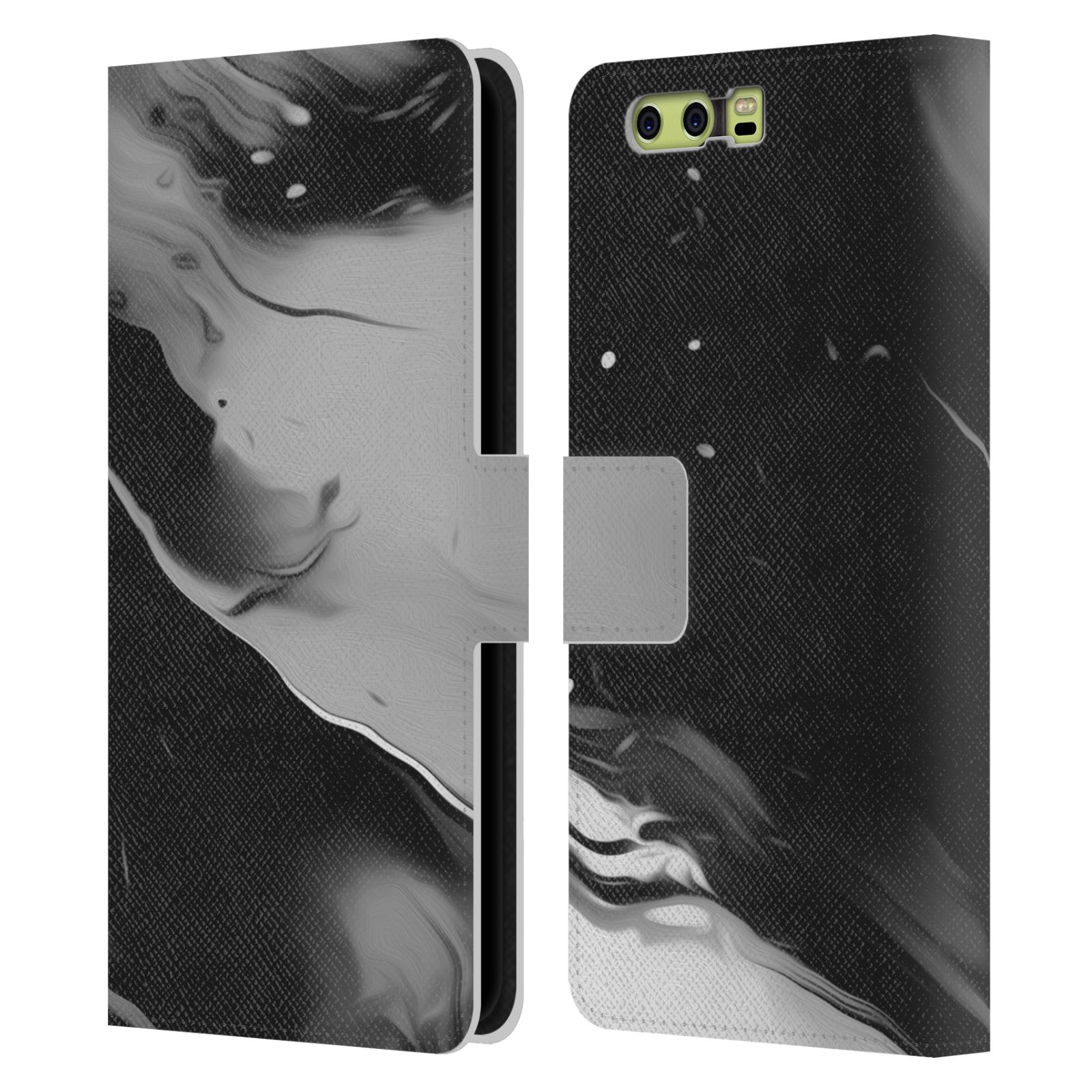 OFFICIAL-MALAVIDA-ABSTRACT-MONOCHROMATIC-LEATHER-BOOK-CASE-FOR-HUAWEI-PHONES