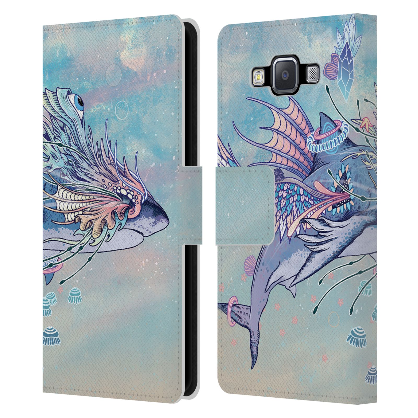 OFFICIAL-MAT-MILLER-ANIMALS-2-LEATHER-BOOK-WALLET-CASE-FOR-SAMSUNG-PHONES-2
