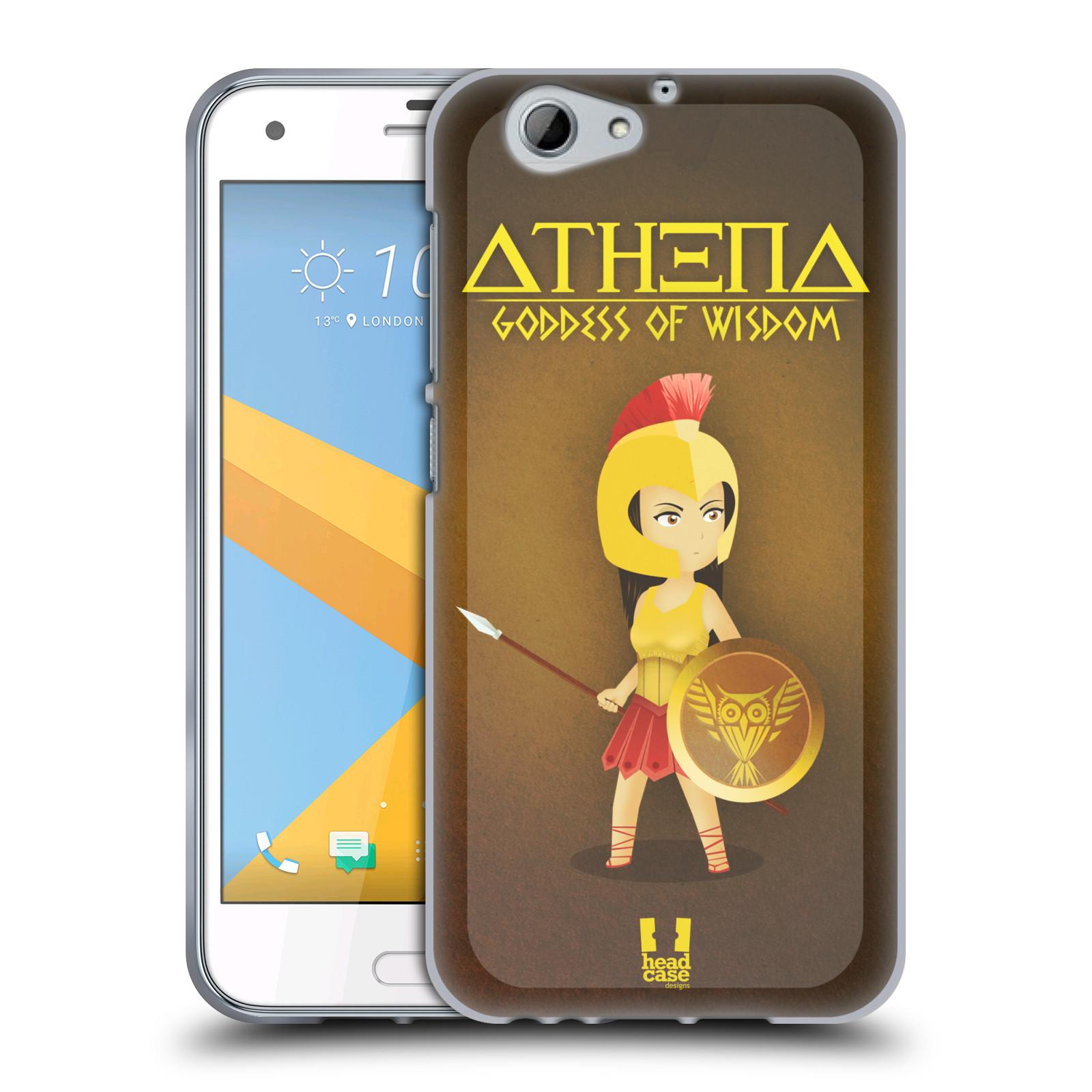 HEAD-CASE-DESIGNS-PICCOLE-DIVINITA-GRECHE-COVER-MORBIDA-IN-GEL-PER-HTC-ONE-A9s