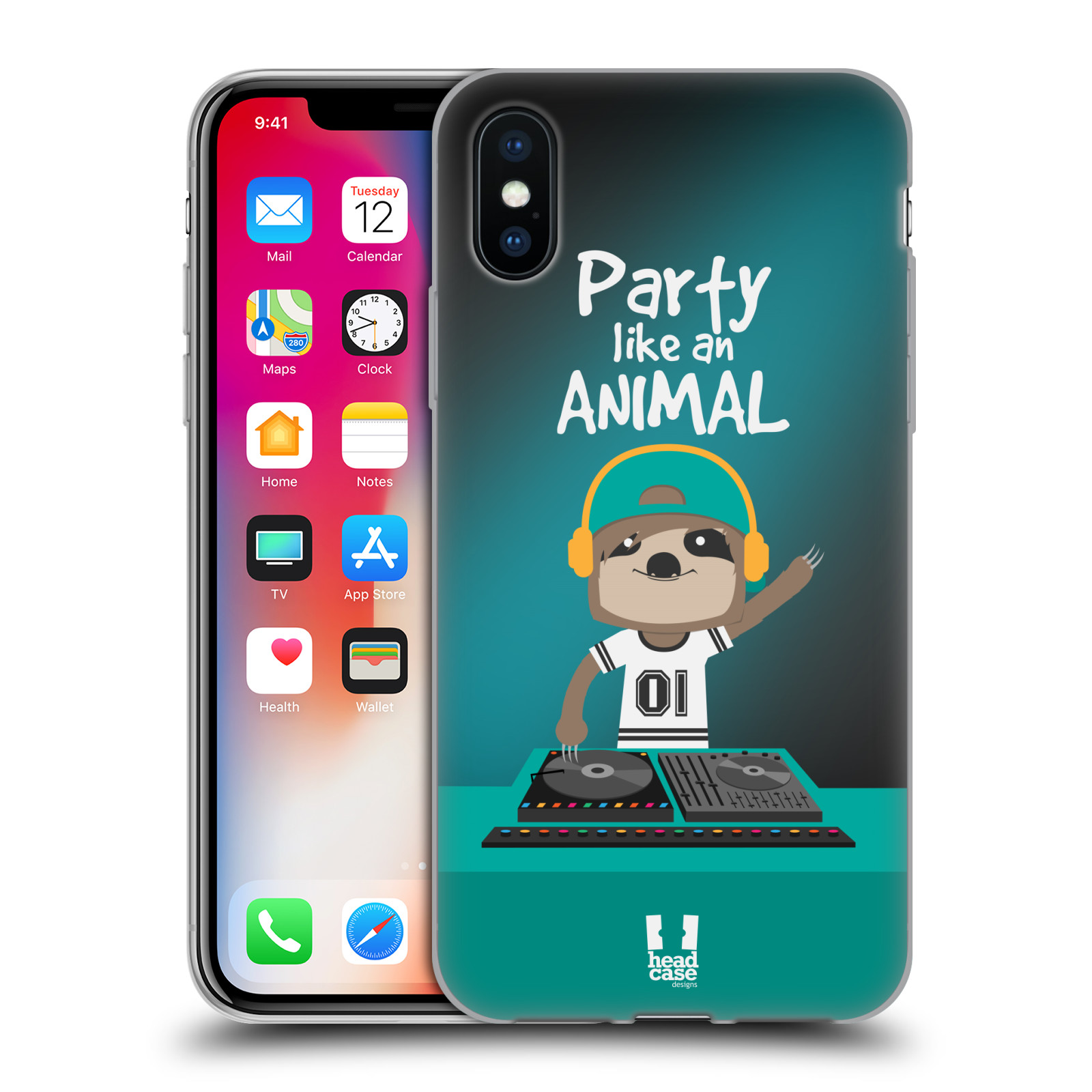 HEAD-CASE-DESIGNS-MR-SLOTH-SOFT-GEL-CASE-FOR-APPLE-iPHONE-PHONES