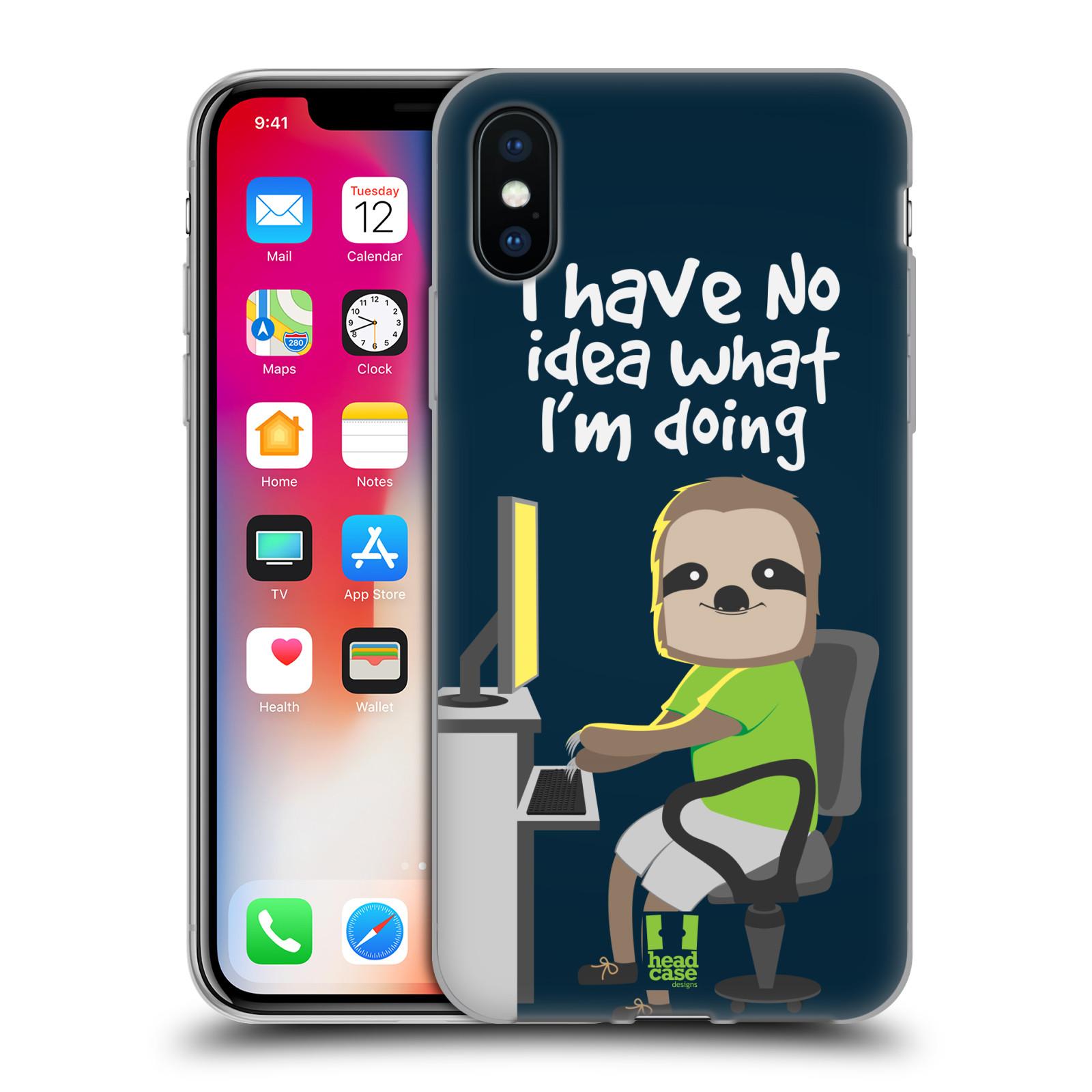 HEAD-CASE-DESIGNS-MR-SLOTH-SOFT-GEL-CASE-FOR-APPLE-iPHONE-PHONES