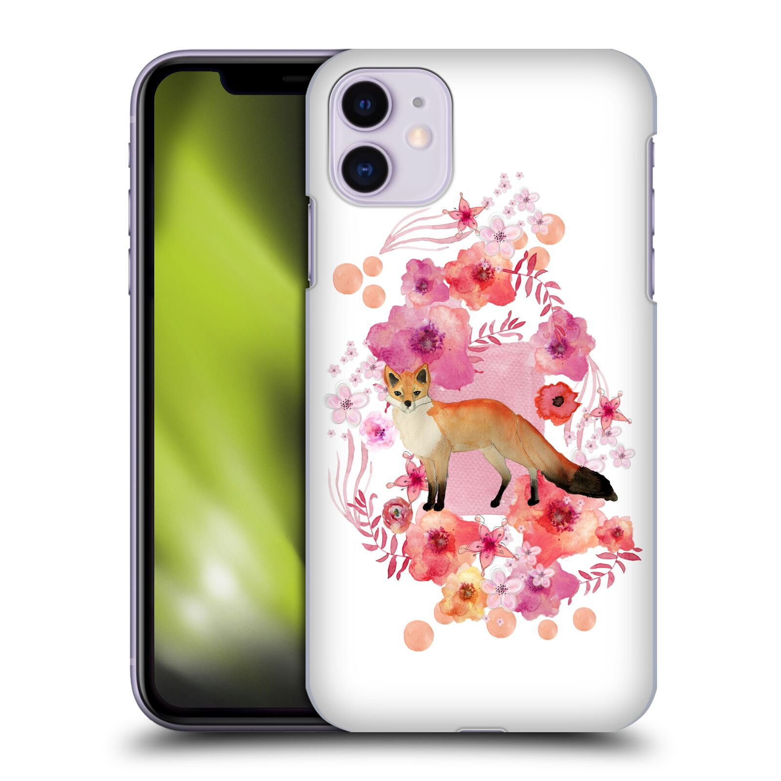 Official Monika Strigel Animals And Flowers Fox Case for Apple iPhone 11