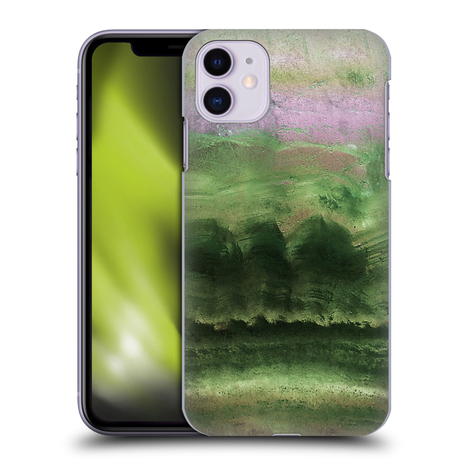 Official Monika Strigel Agate Gemstone Emerald Case for Apple iPhone 11