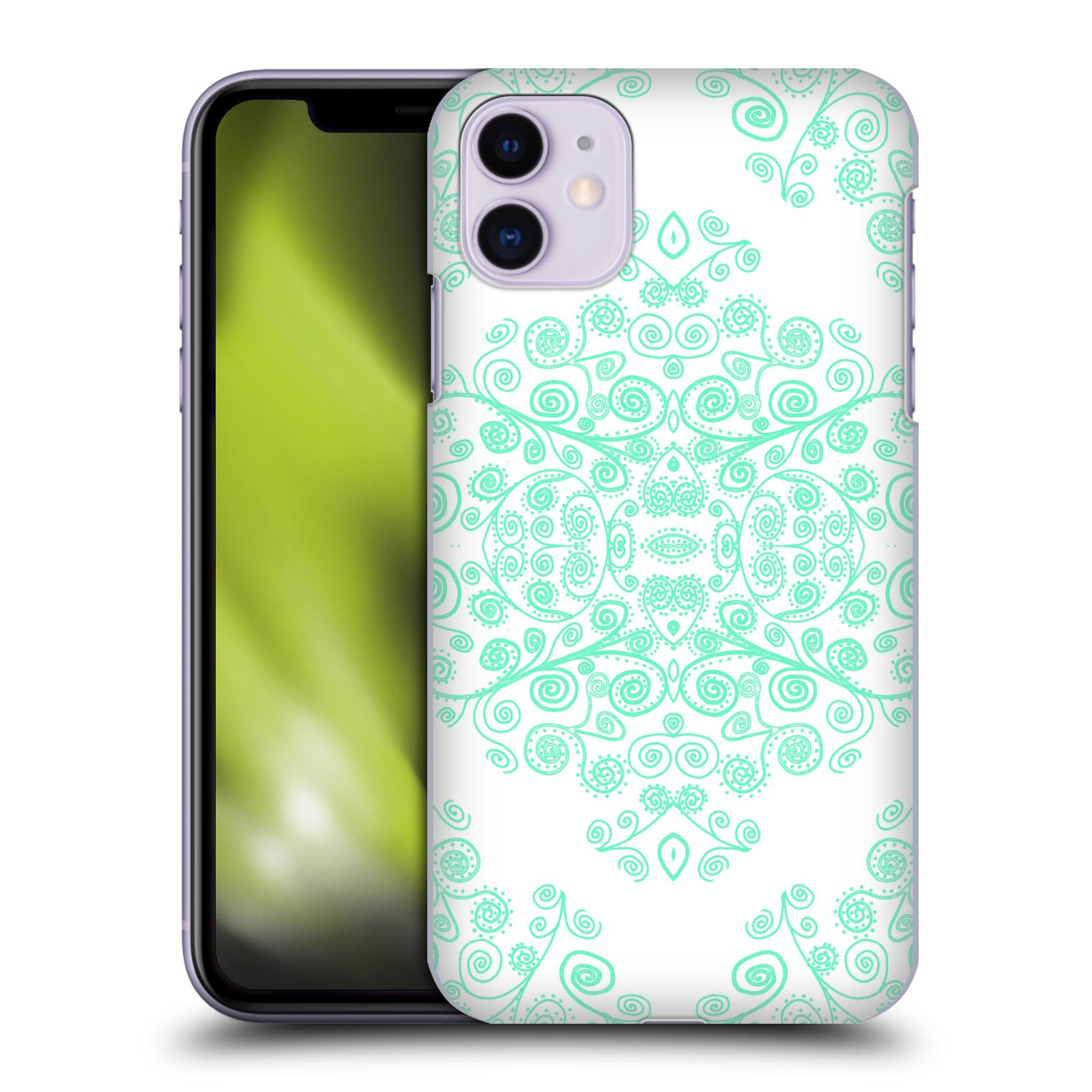 Official Monika Strigel Ambrosia Mint Case for Apple iPhone 11