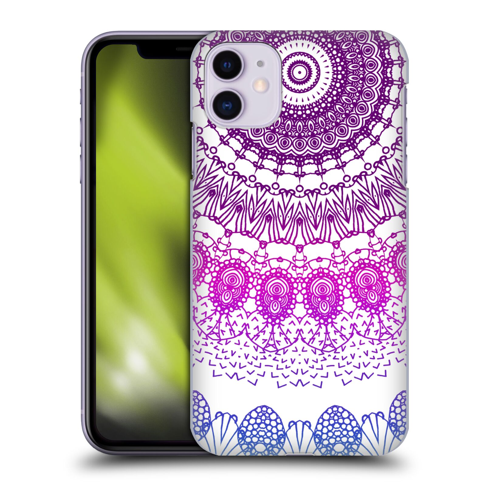 Official Monika Strigel Boho Lace Purple Case for Apple iPhone 11