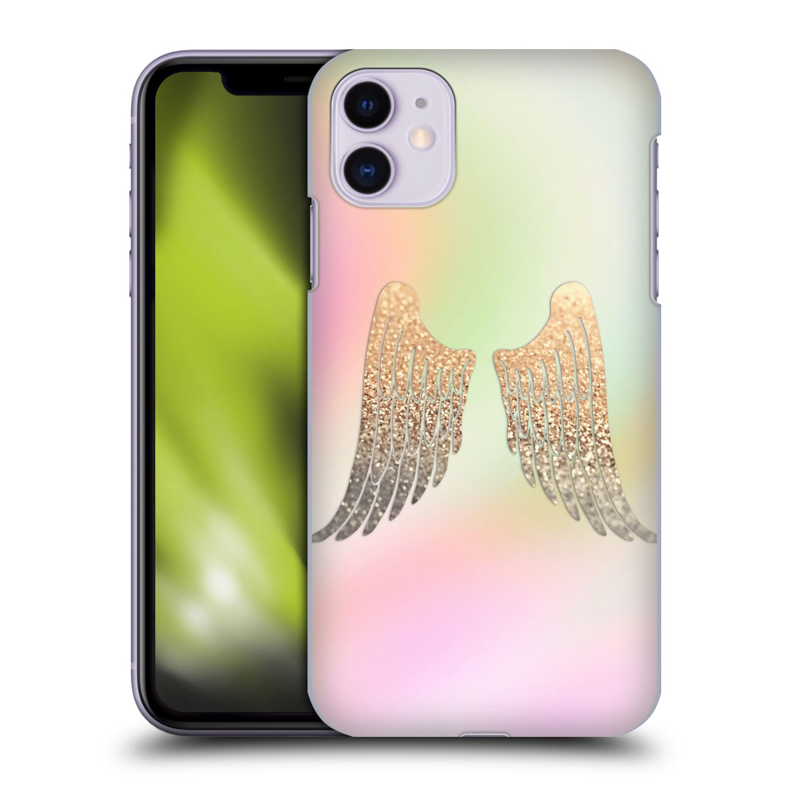 Official Monika Strigel Dreamland Gold Wings Case for Apple iPhone 11