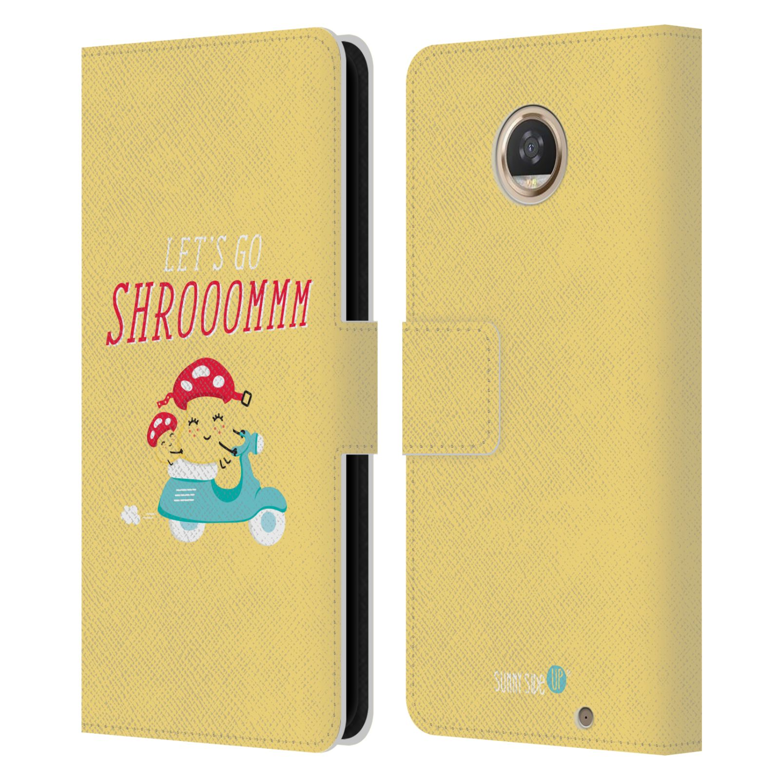 OFFICIAL-MUY-POP-SUNNY-SIDE-UP-MIX-LEATHER-BOOK-WALLET-CASE-FOR-MOTOROLA-PHONES
