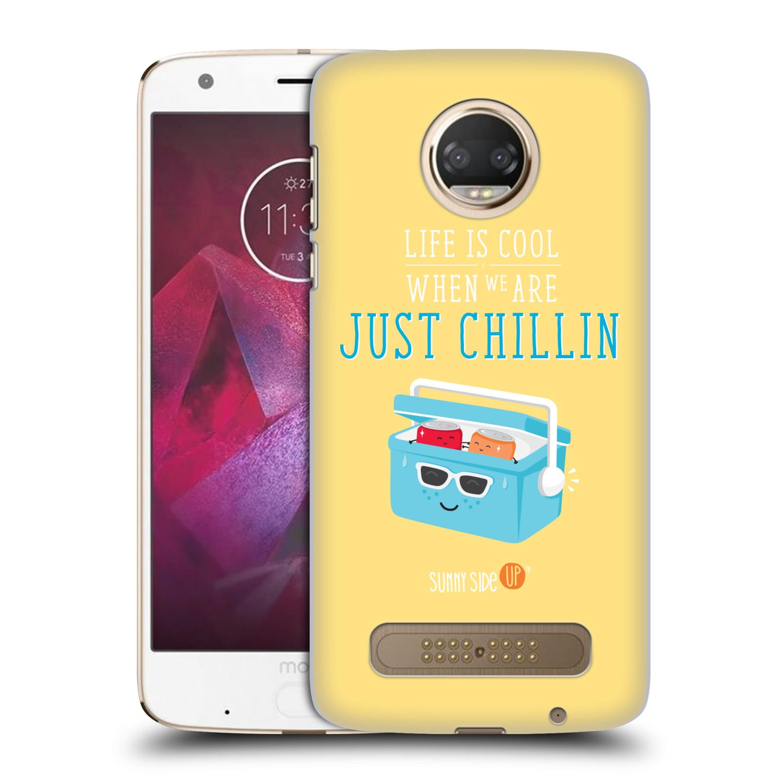 Oficial-muy-pop-el-lado-soleado-verano-Funda-Rigida-posterior-para-telefonos-Motorola-1