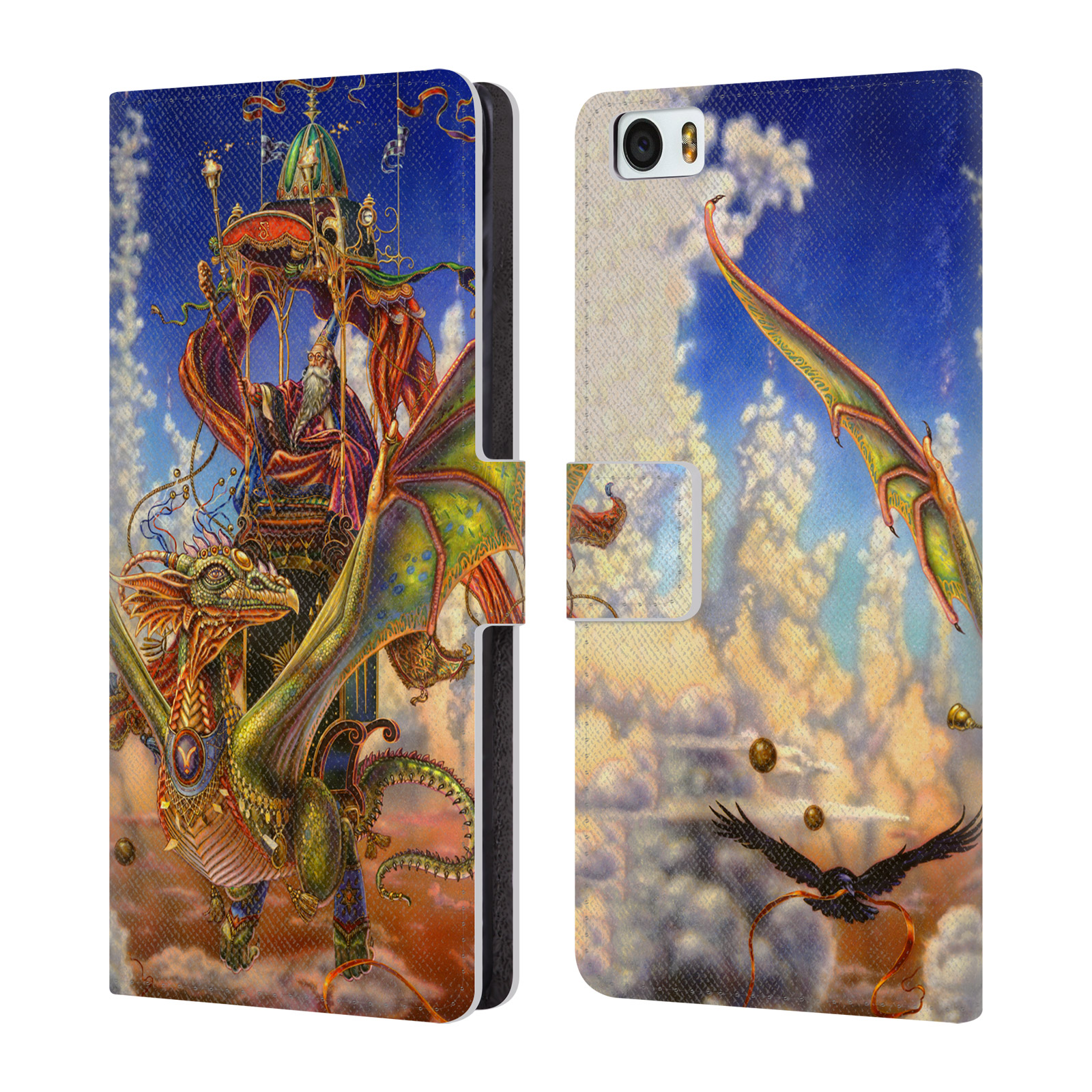 OFFICIAL-MYLES-PINKNEY-FANTASY-LEATHER-BOOK-WALLET-CASE-COVER-FOR-XIAOMI-PHONES
